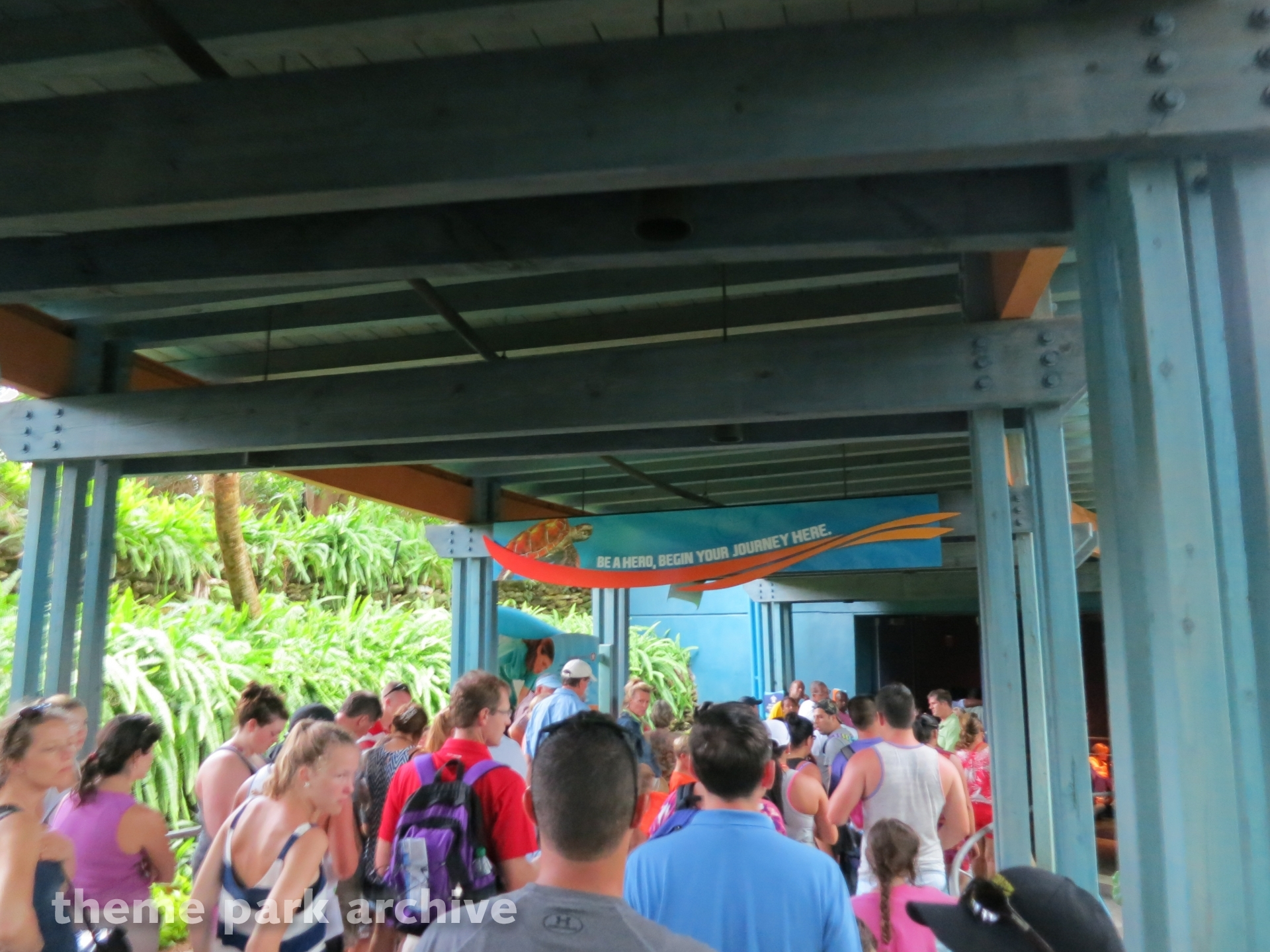 Turtle Trek at Sea World Orlando | Theme Park Archive