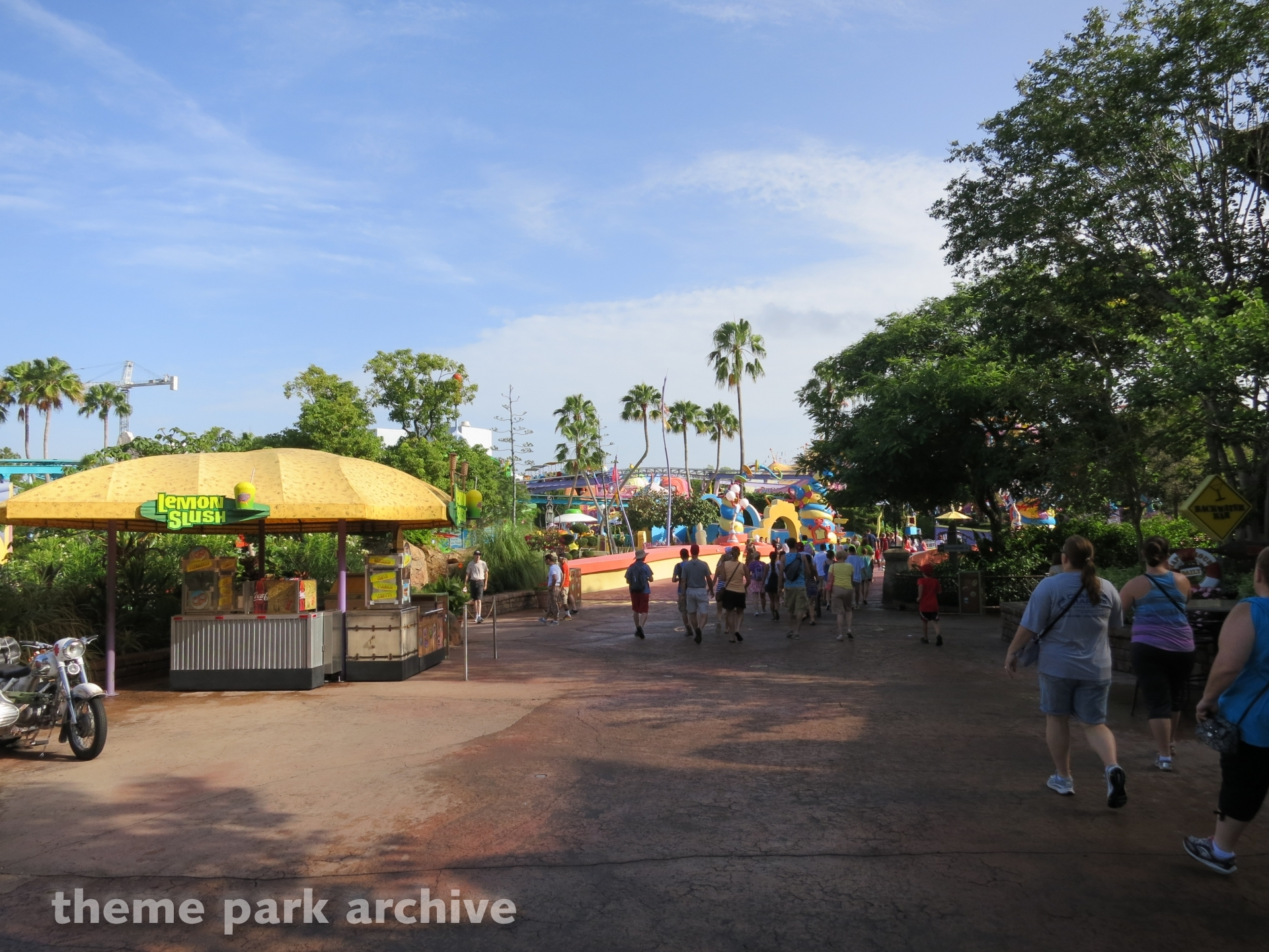 Port of Entry at Universal Islands of Adventure