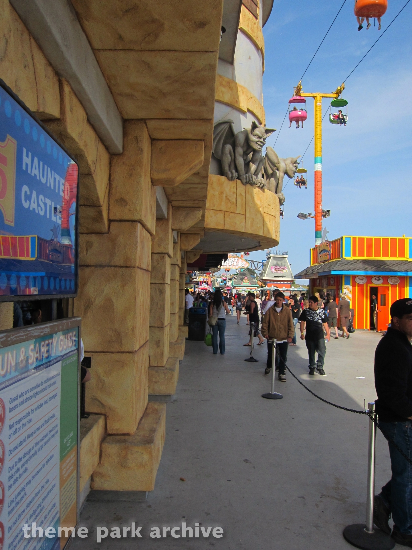 Haunted Castle at Santa Cruz Beach Boardwalk