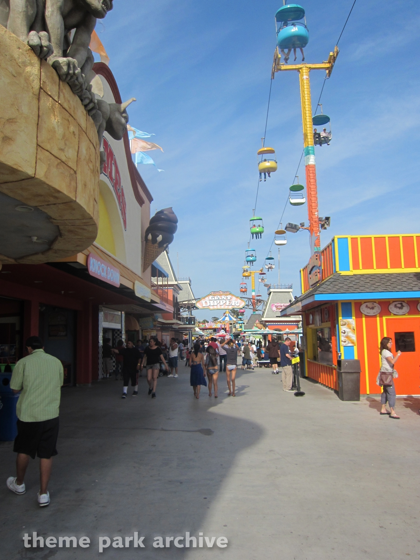 Sky Glider at Santa Cruz Beach Boardwalk
