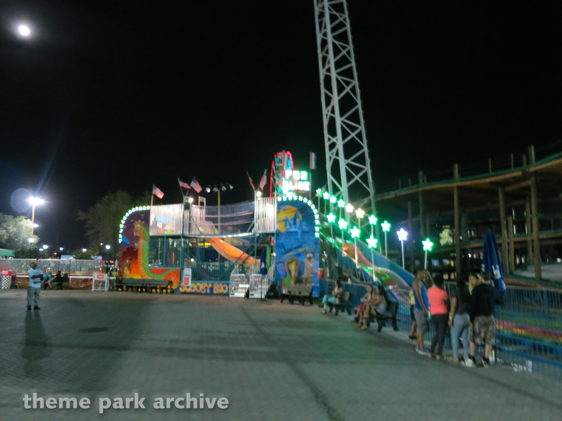 Fun Slide at Fun Spot America Orlando