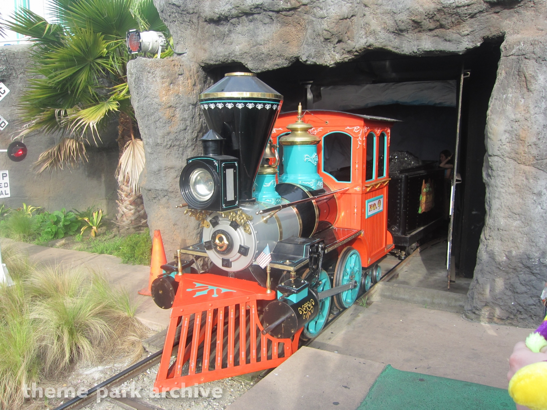 Cave Train Adventure At Santa Cruz Beach Boardwalk