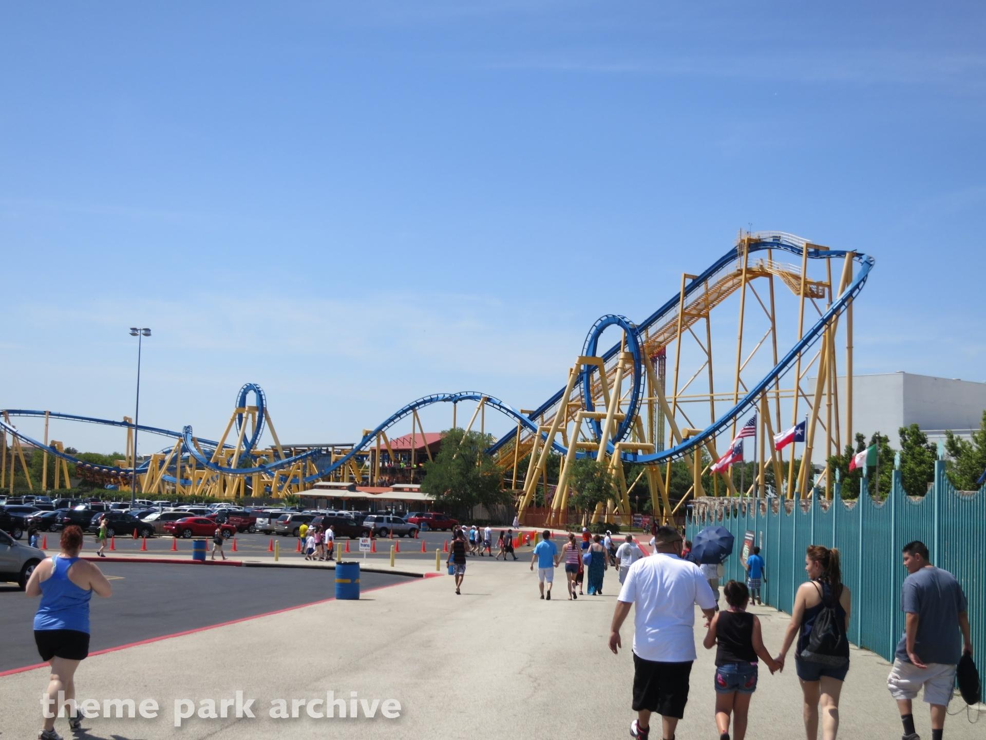 Goliath at Six Flags Fiesta Texas