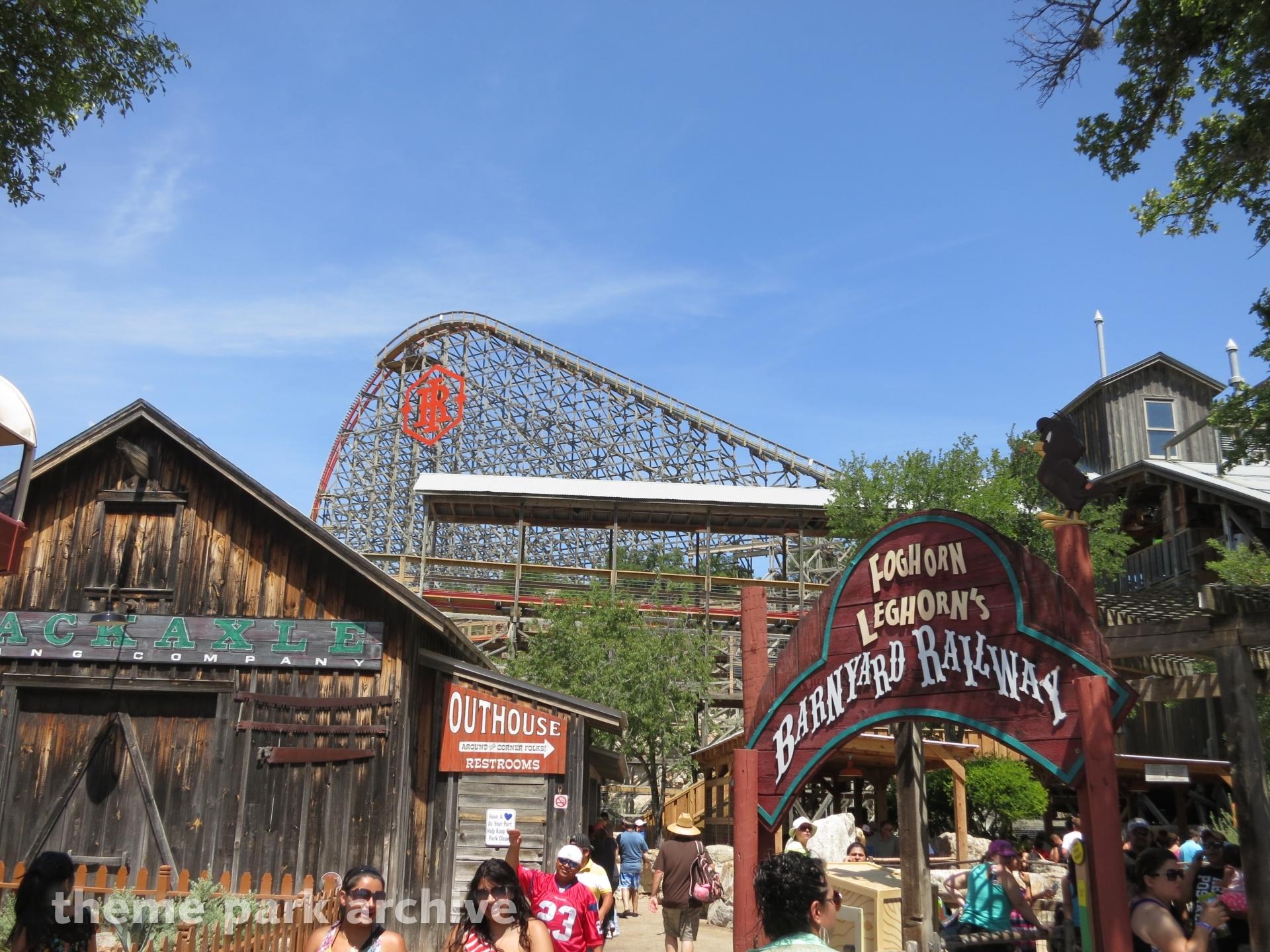 Iron Rattler at Six Flags Fiesta Texas