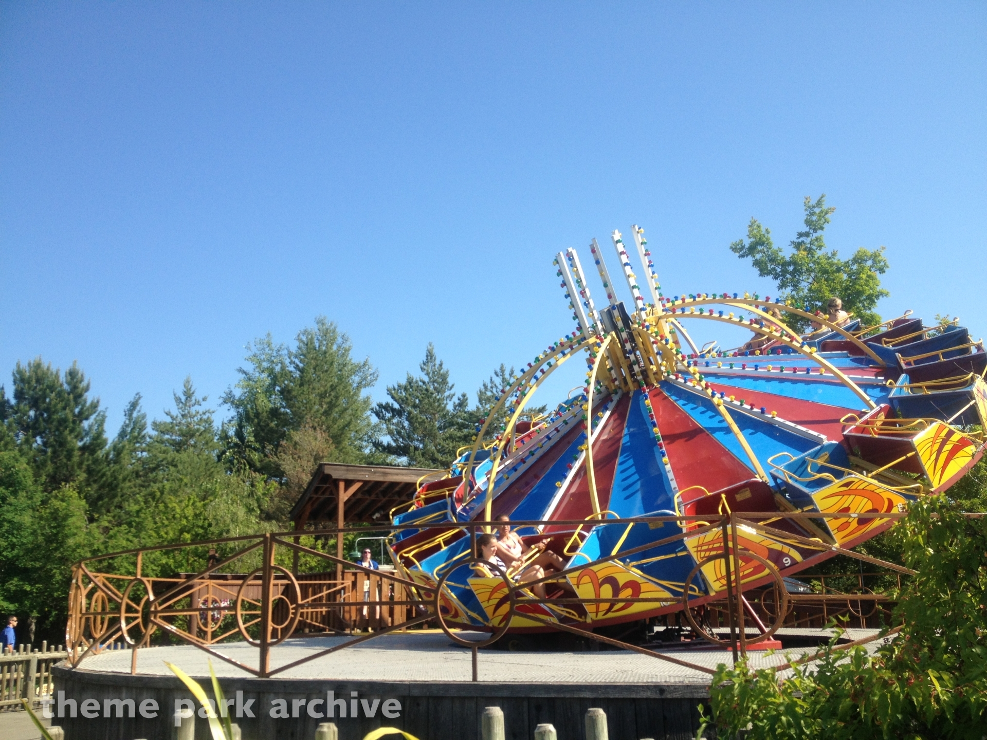 Super Roundup at Silverwood Theme Park and Boulder Beach
