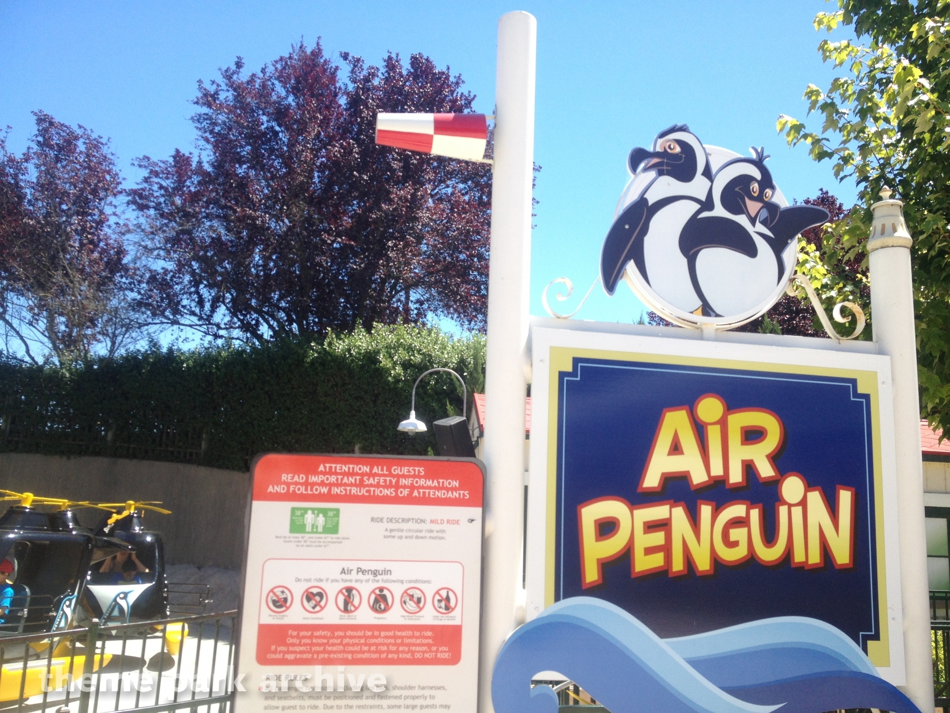 Air Penguin at Six Flags Discovery Kingdom