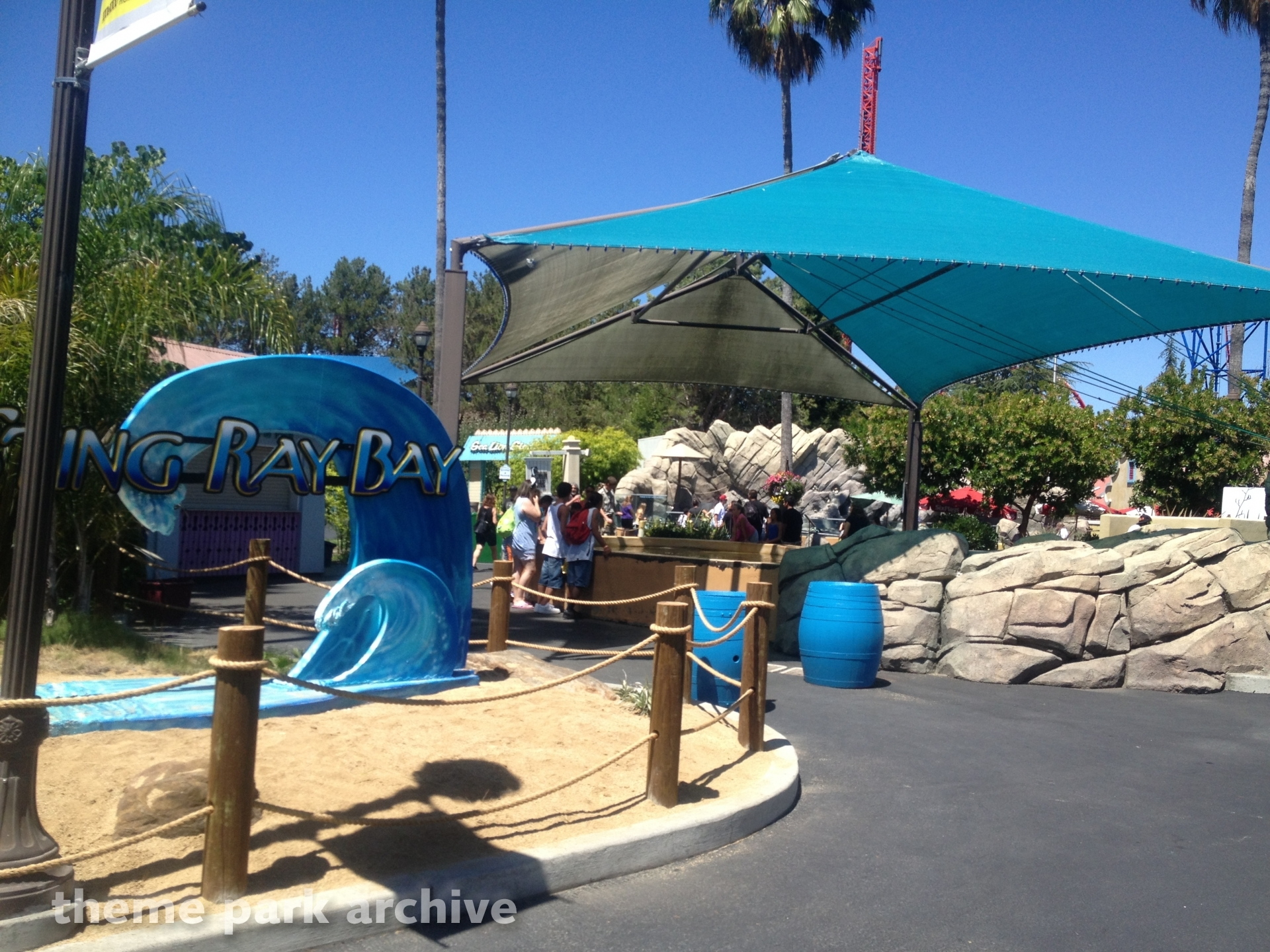 Sting Ray Bay at Six Flags Discovery Kingdom