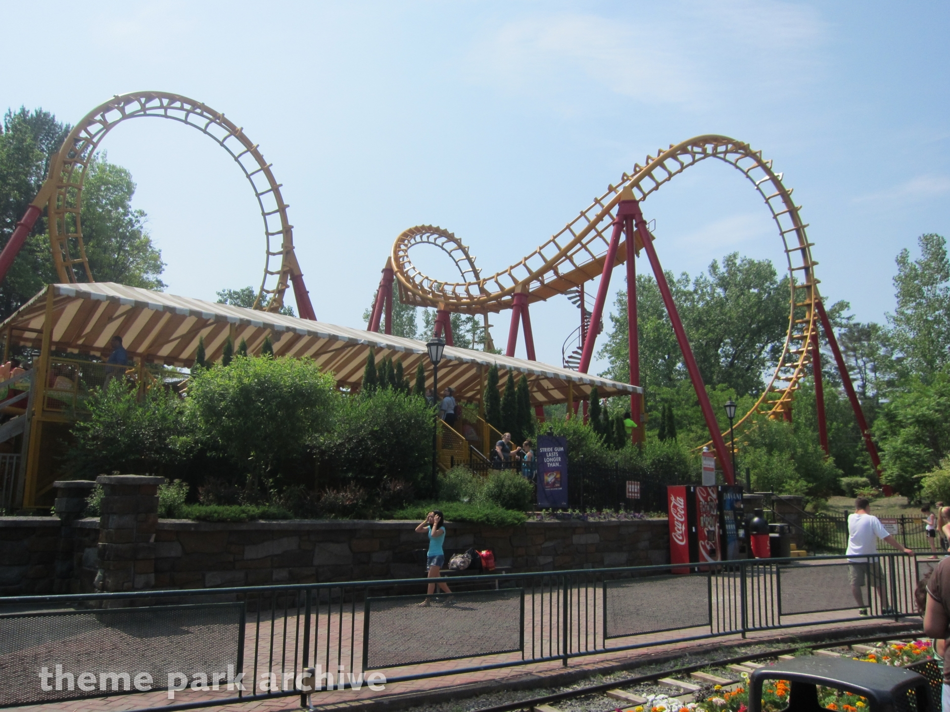Boomerang at Great Escape & Splashwater Kingdom