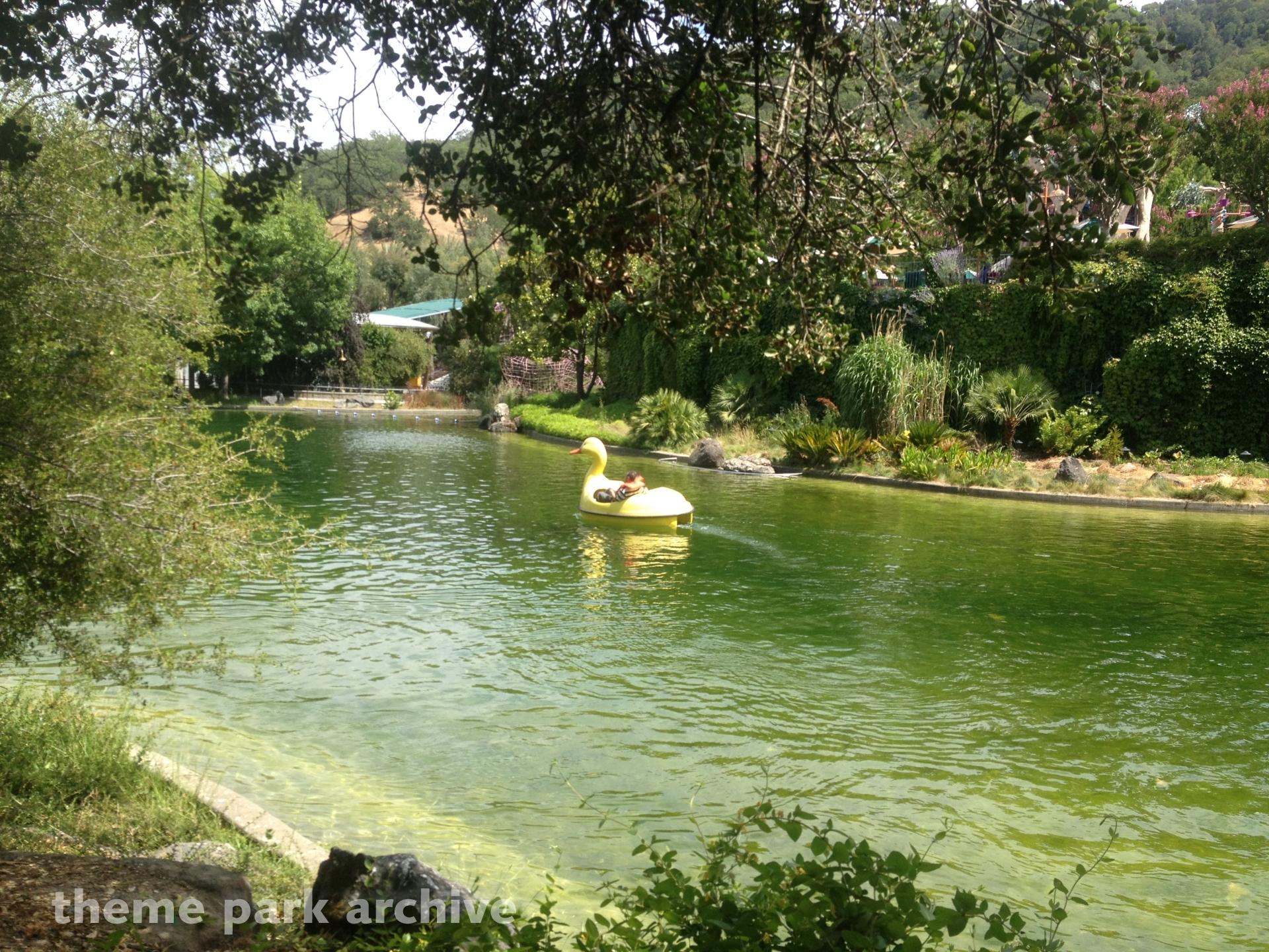 Paddle Boats at Gilroy Gardens