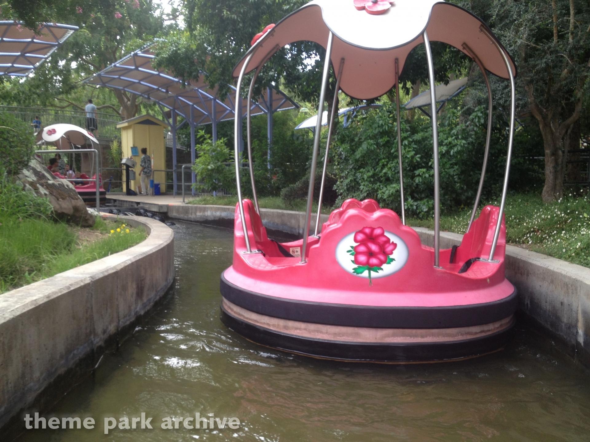 Rainbow Garden Boat Ride at Gilroy Gardens