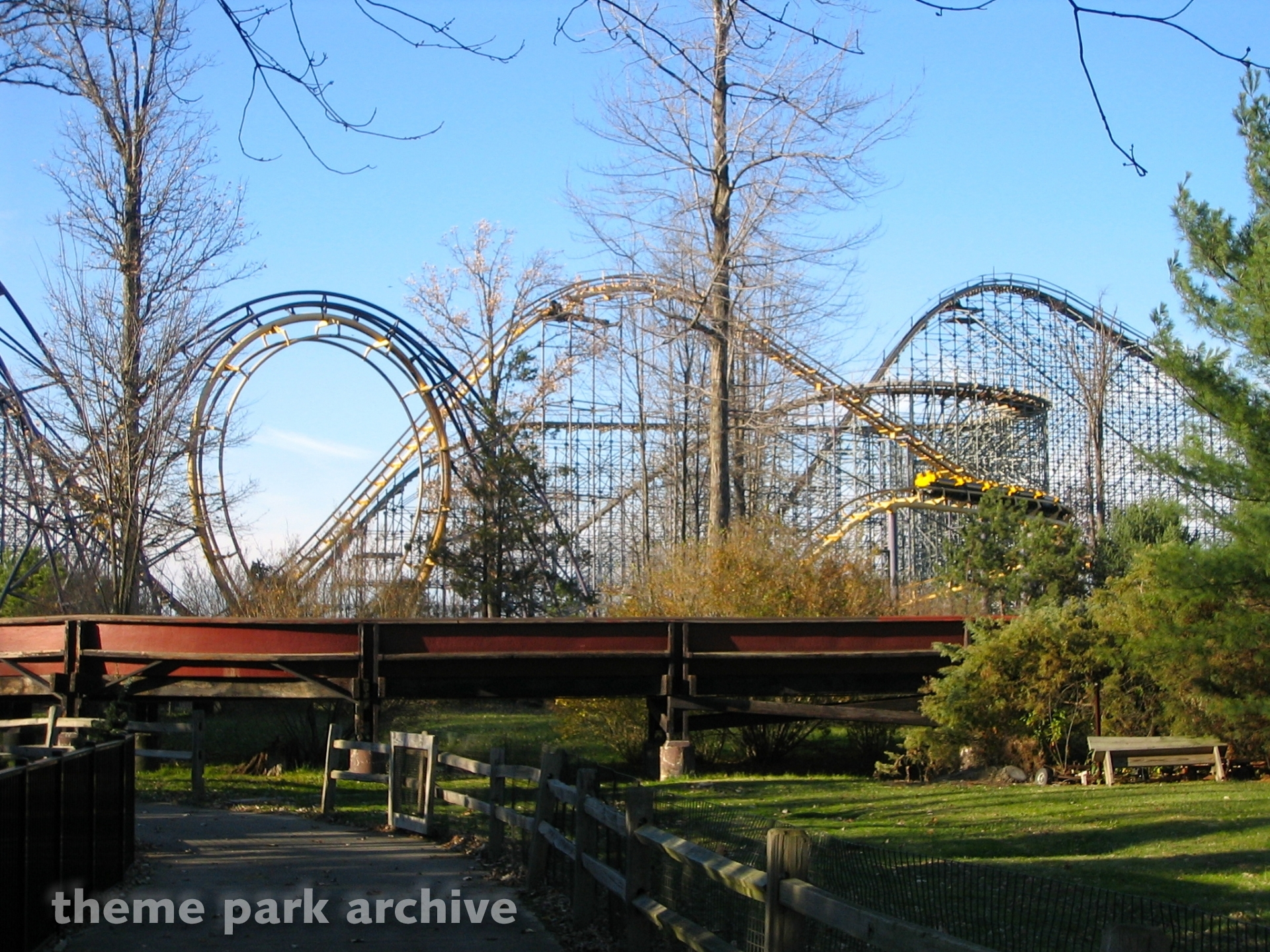 Double Loop at Geauga Lake