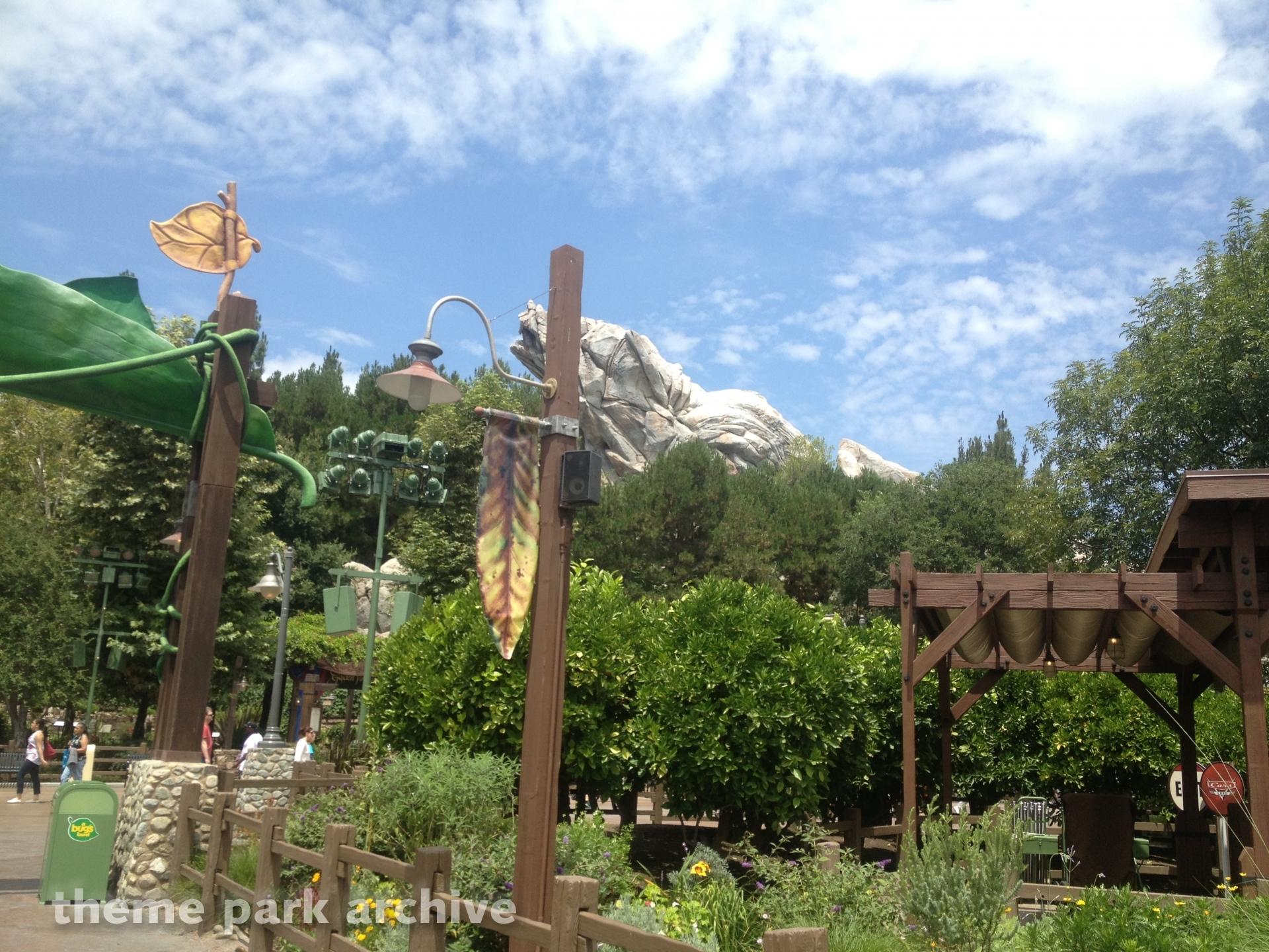 a bugs land at Disney California Adventure