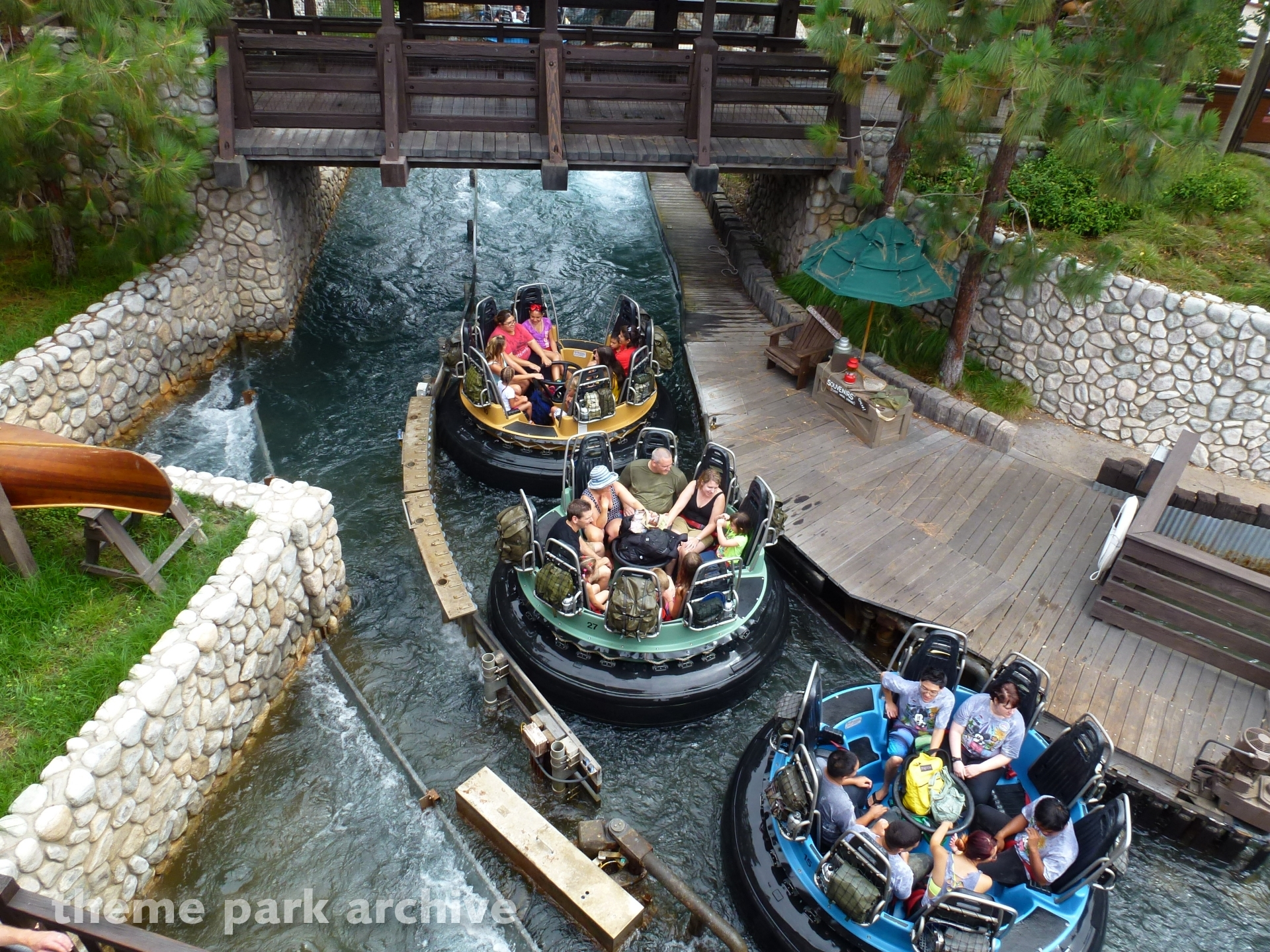 Grizzly River Run at Disney California Adventure