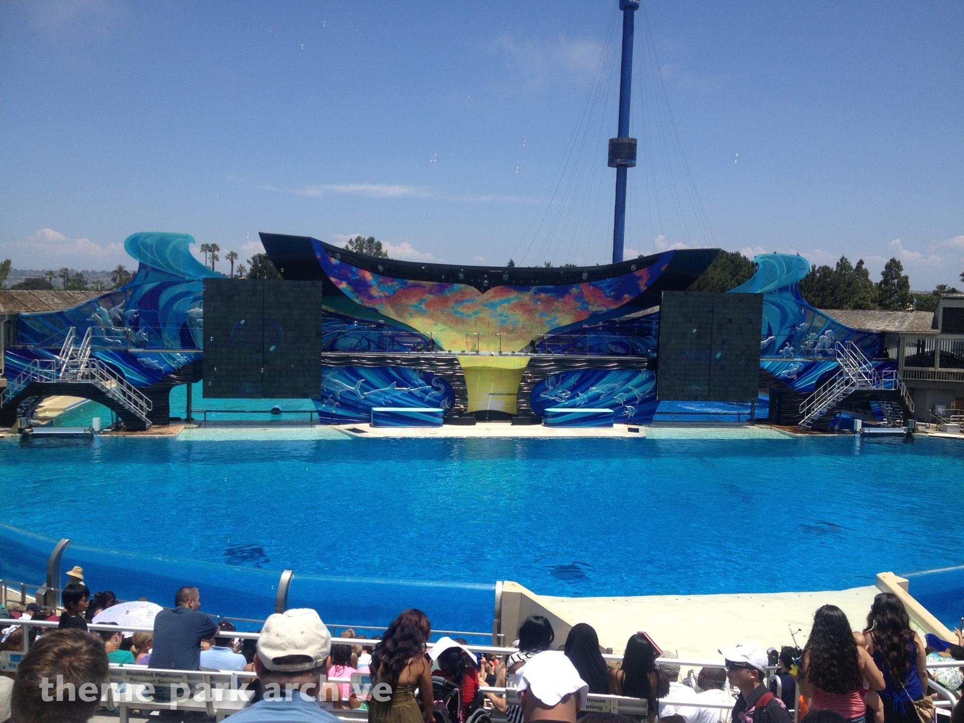 Shamu Stadium at Sea World San Diego
