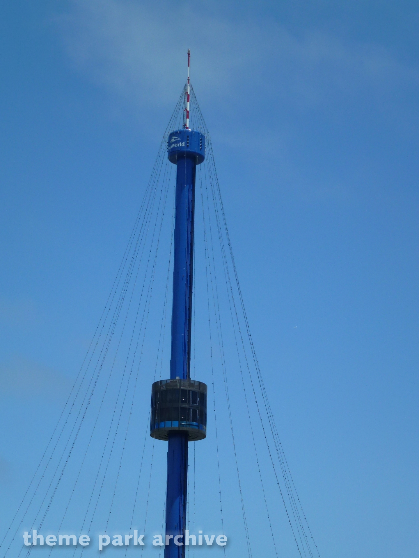 Skytower Ride at Sea World San Diego