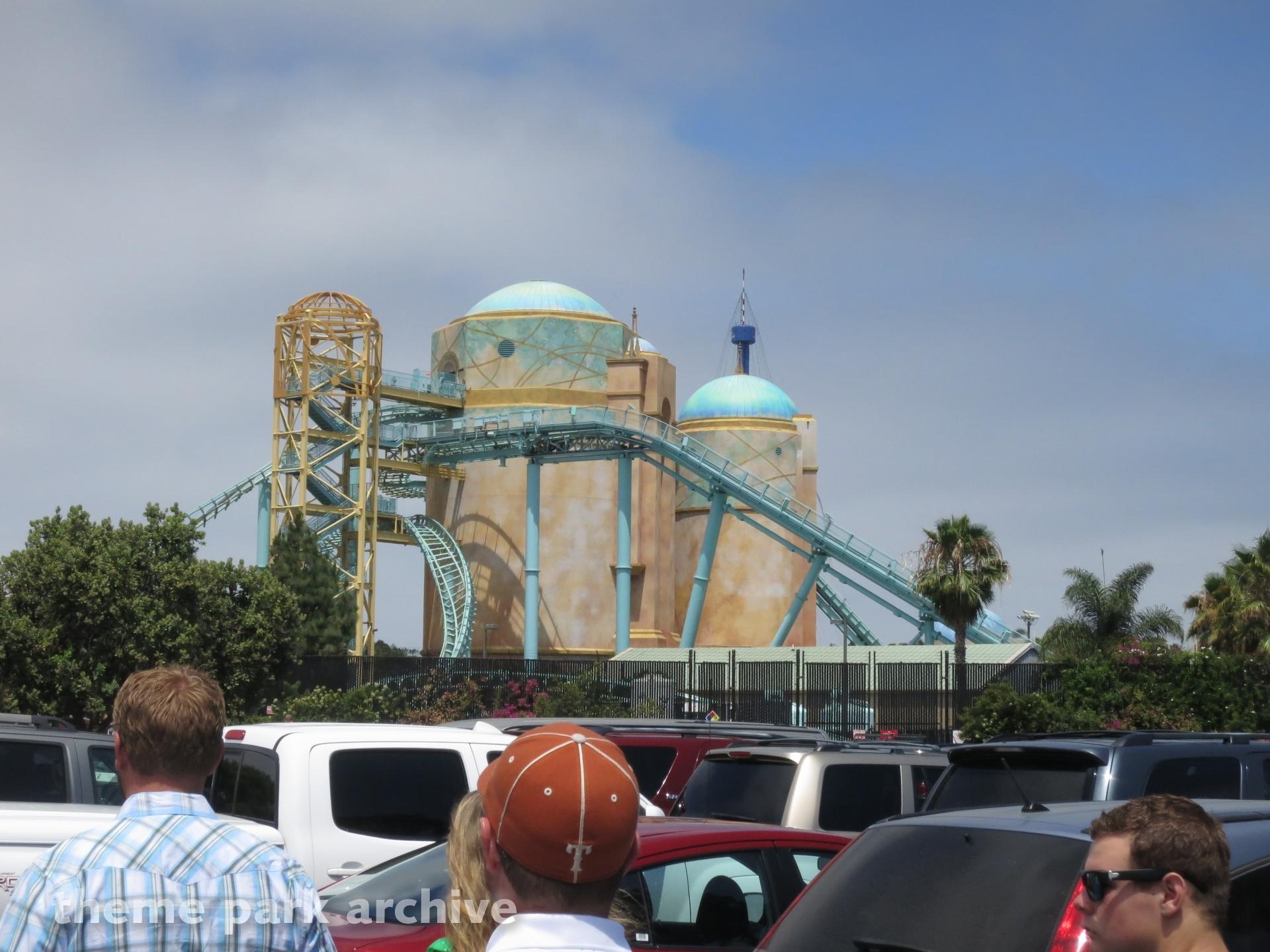 Journey to Atlantis at Sea World San Diego