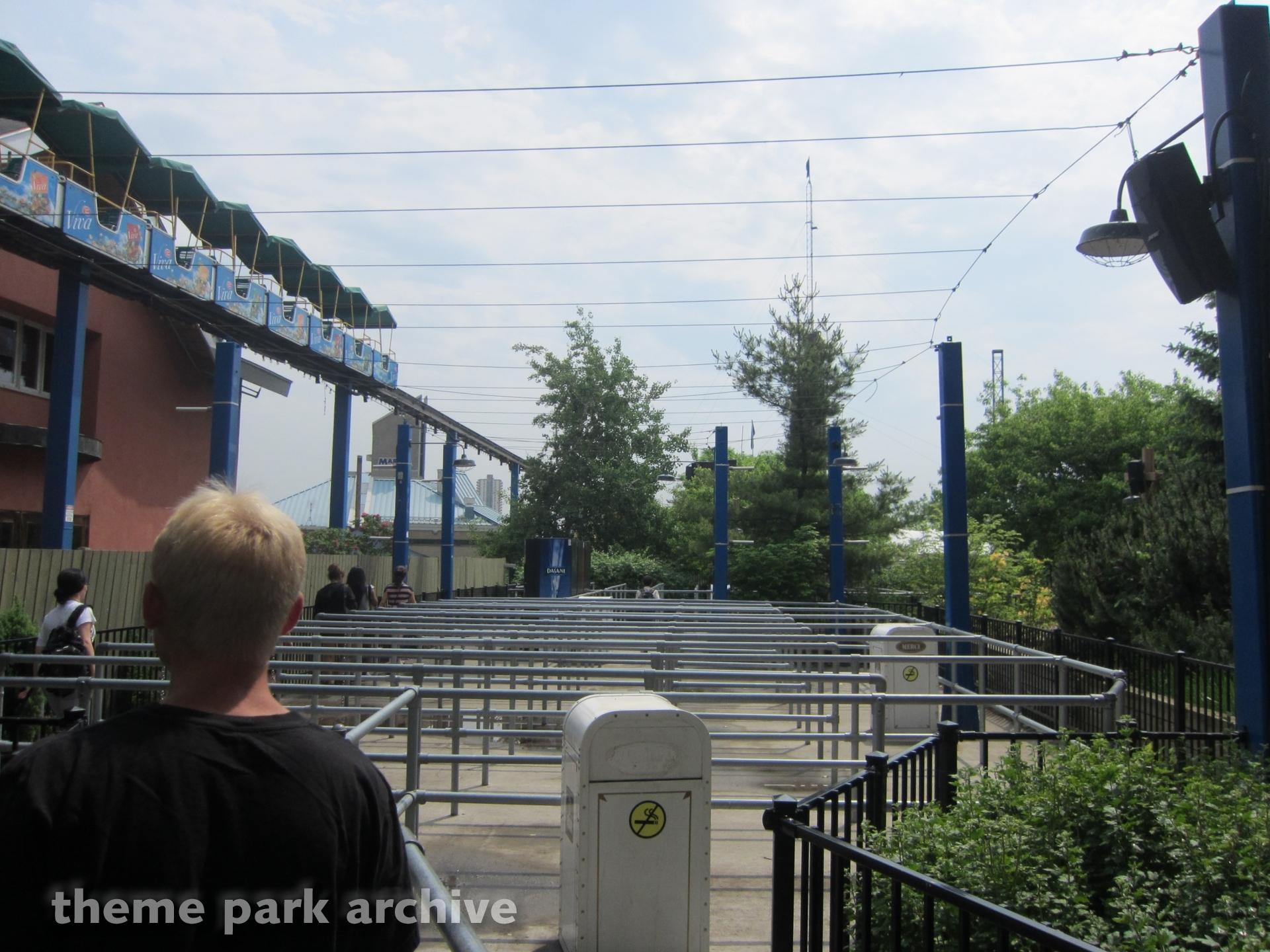Minirail at La Ronde