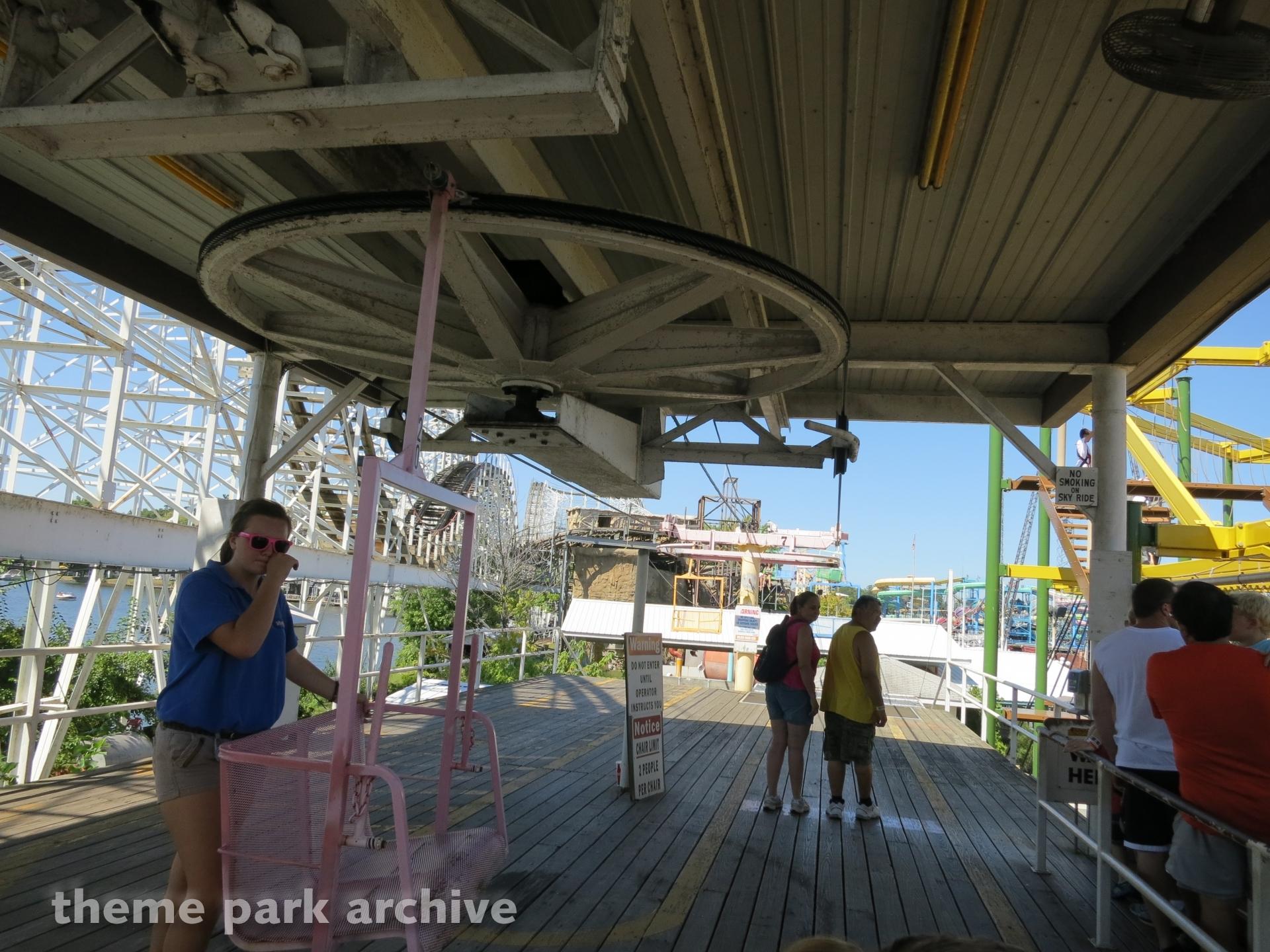 Sky Ride at Indiana Beach