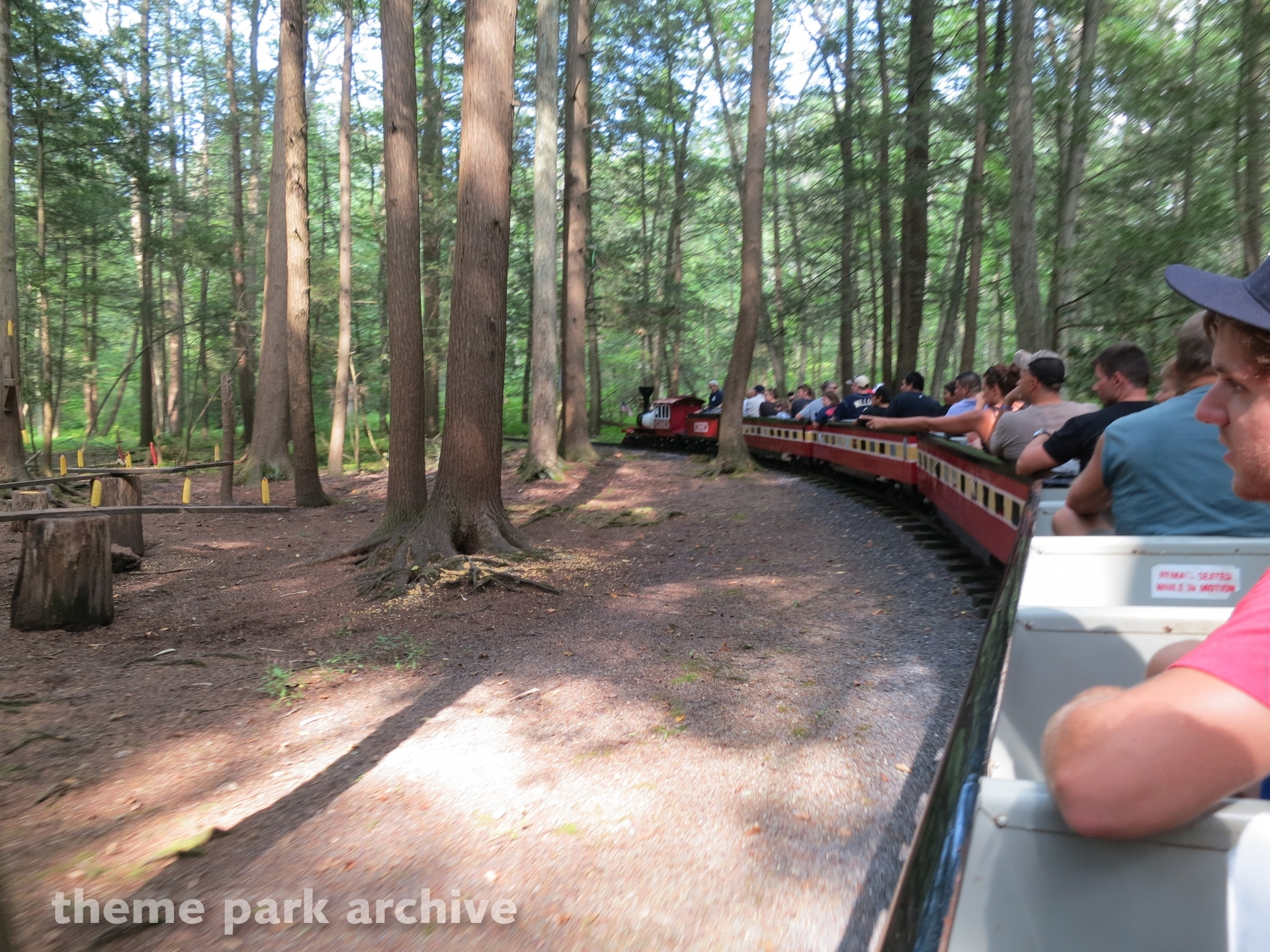 Pioneer Train at Knoebels Amusement Resort