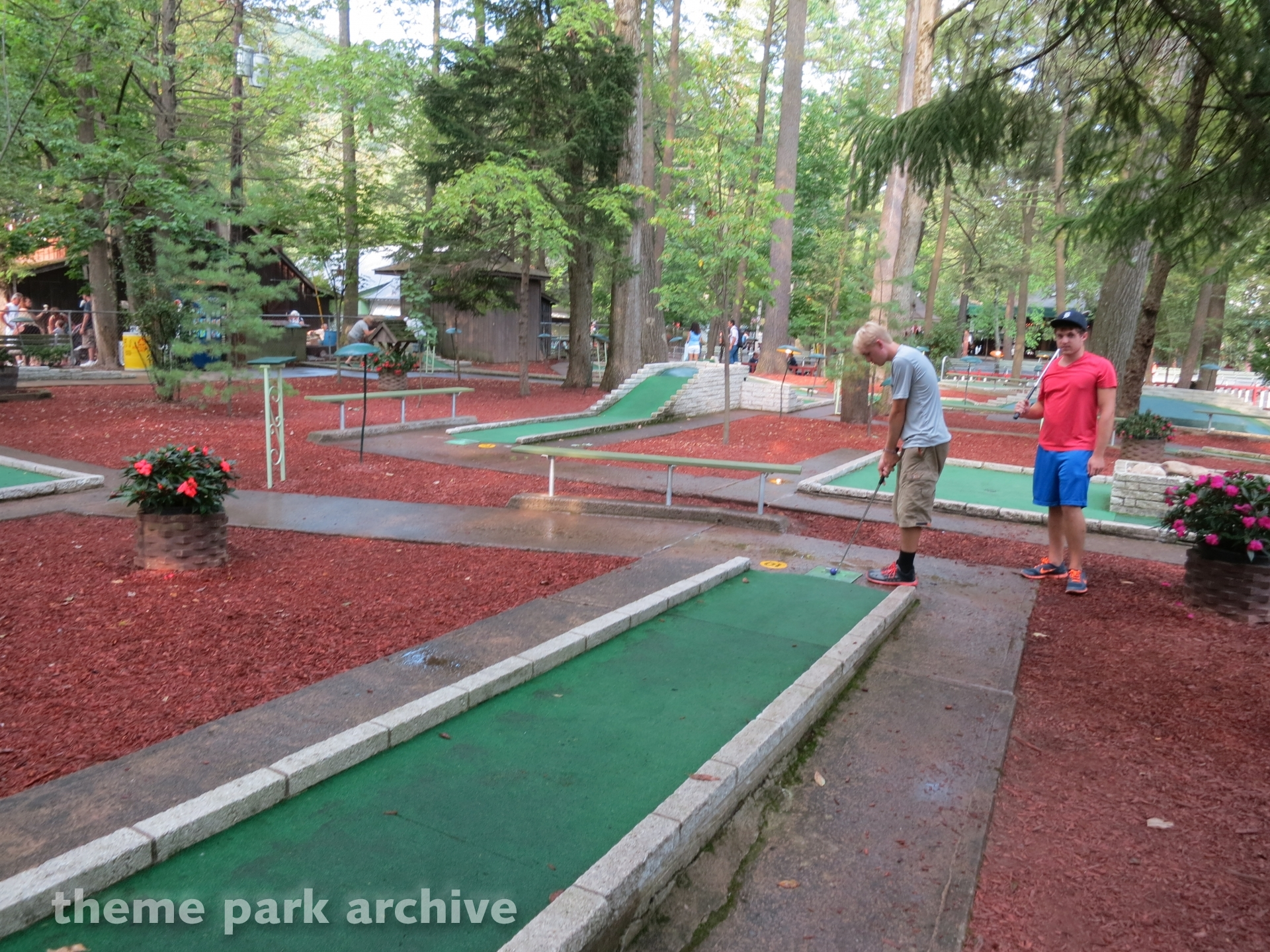 Miniature Golf at Knoebels Amusement Resort