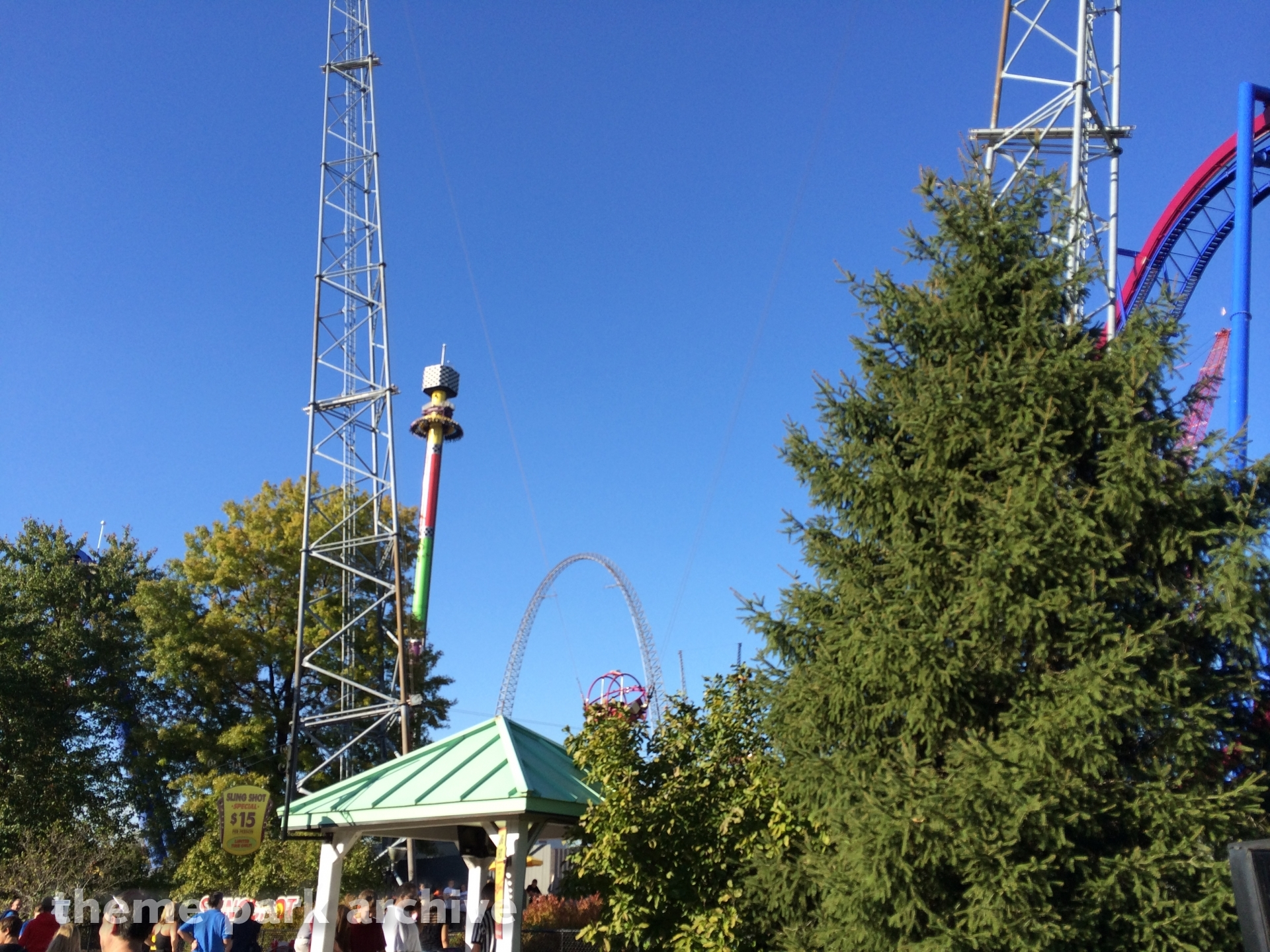 Sling Shot at Kings Island