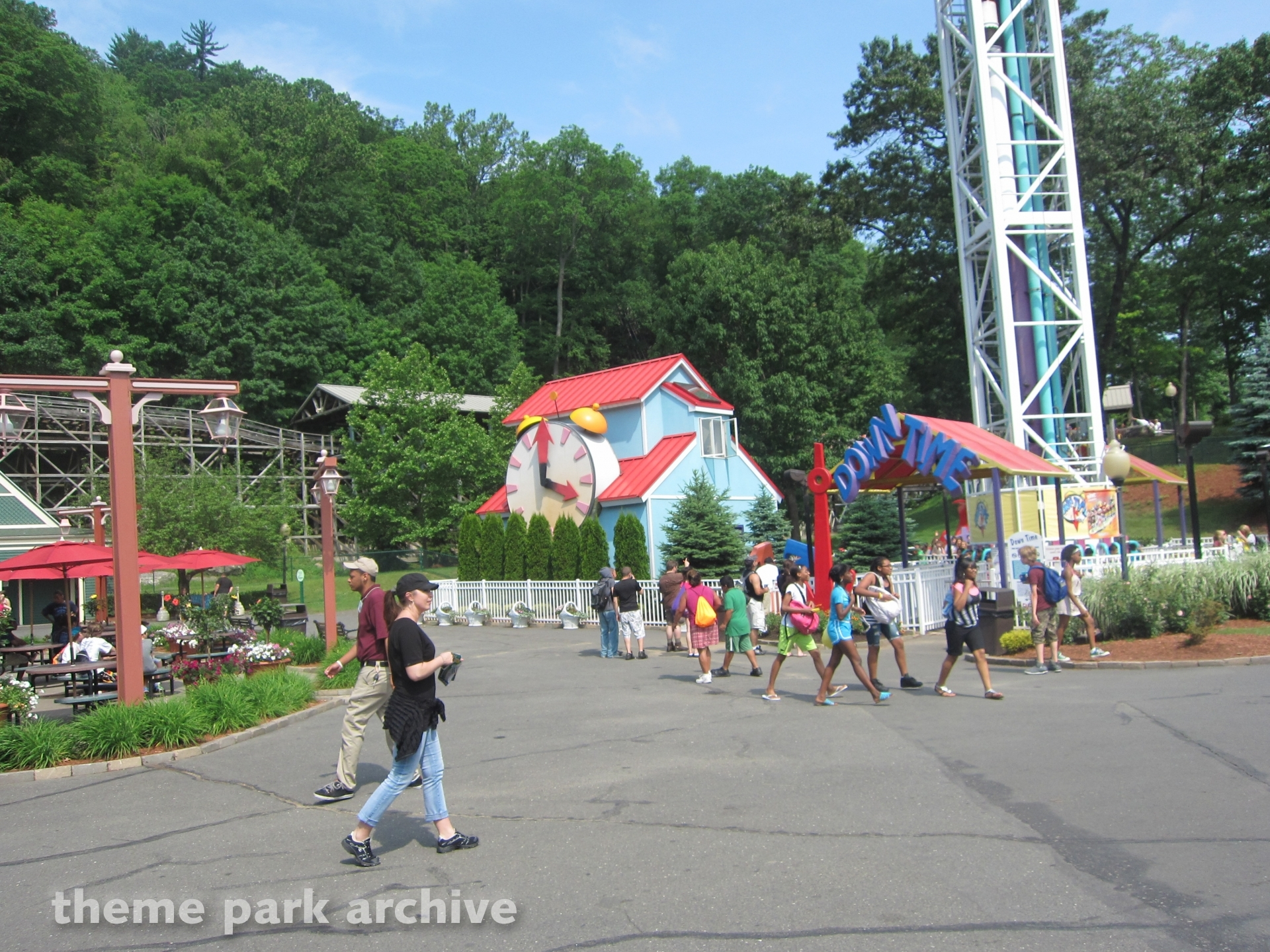 Down Time at Lake Compounce