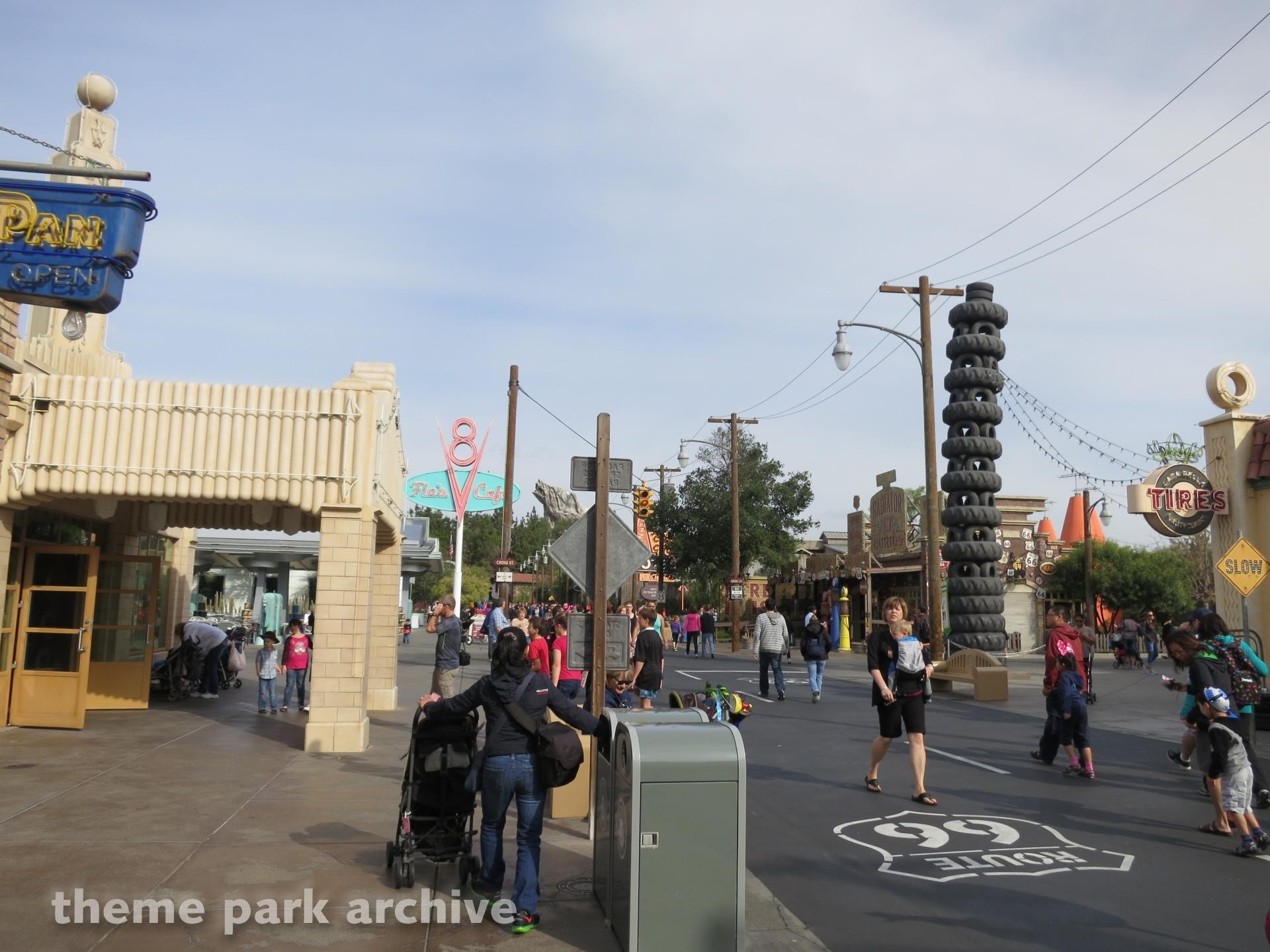 Cars Land at Disney California Adventure