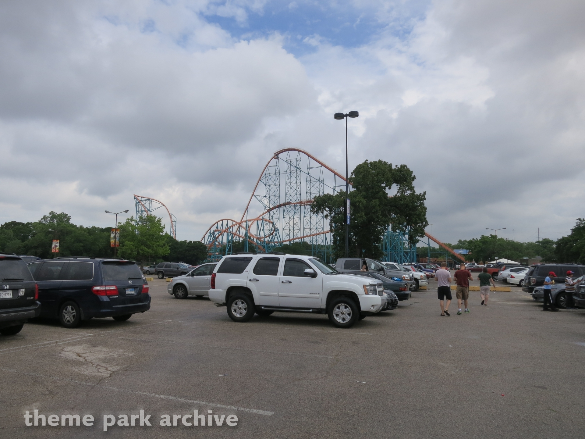 Titan at Six Flags Over Texas