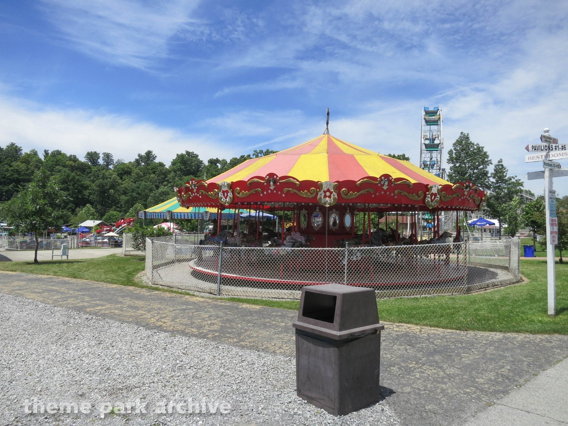Merry Go Round at Lakemont Park