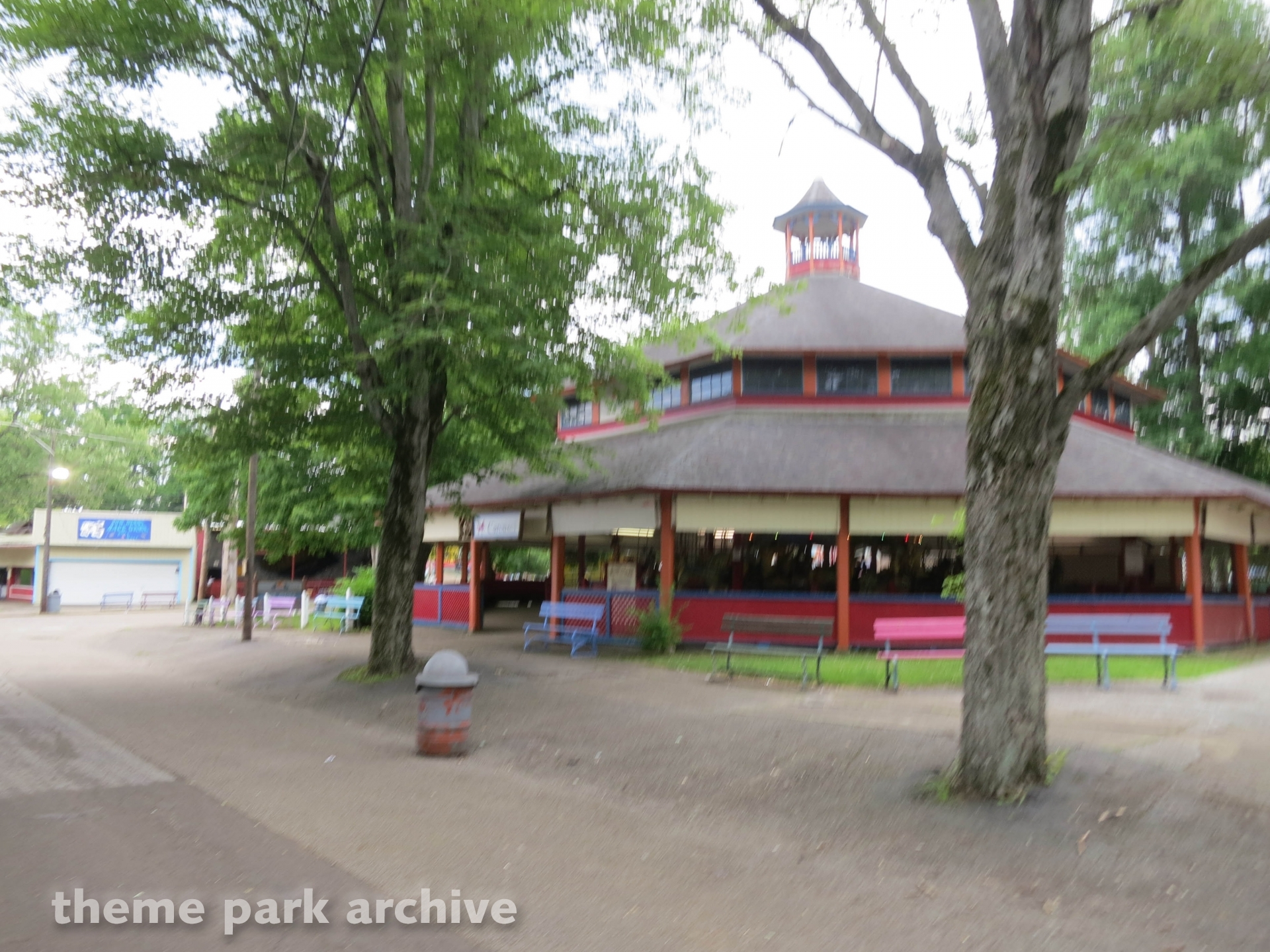 Carousel at Conneaut Lake Park