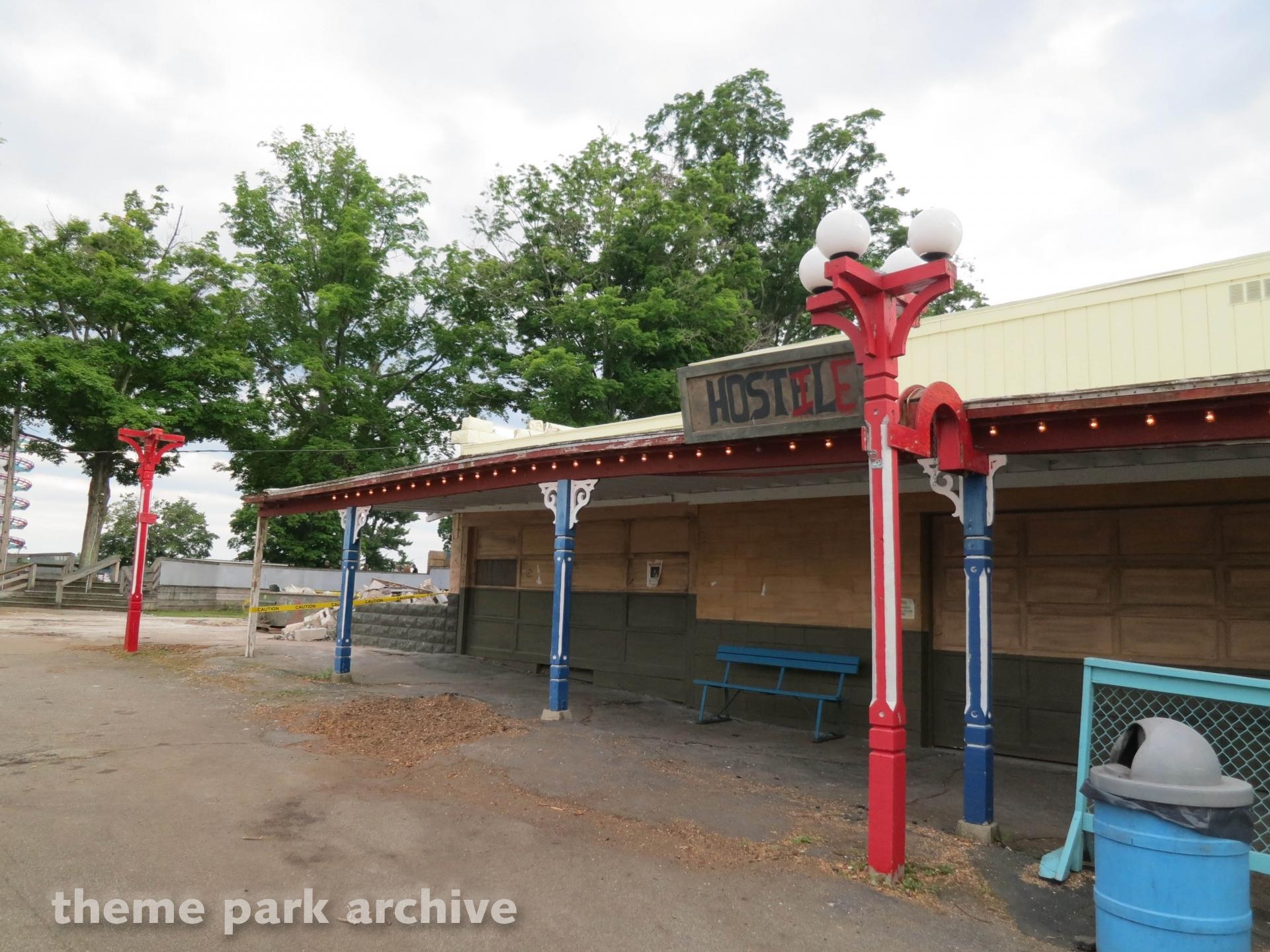 Hostile Hostel at Conneaut Lake Park