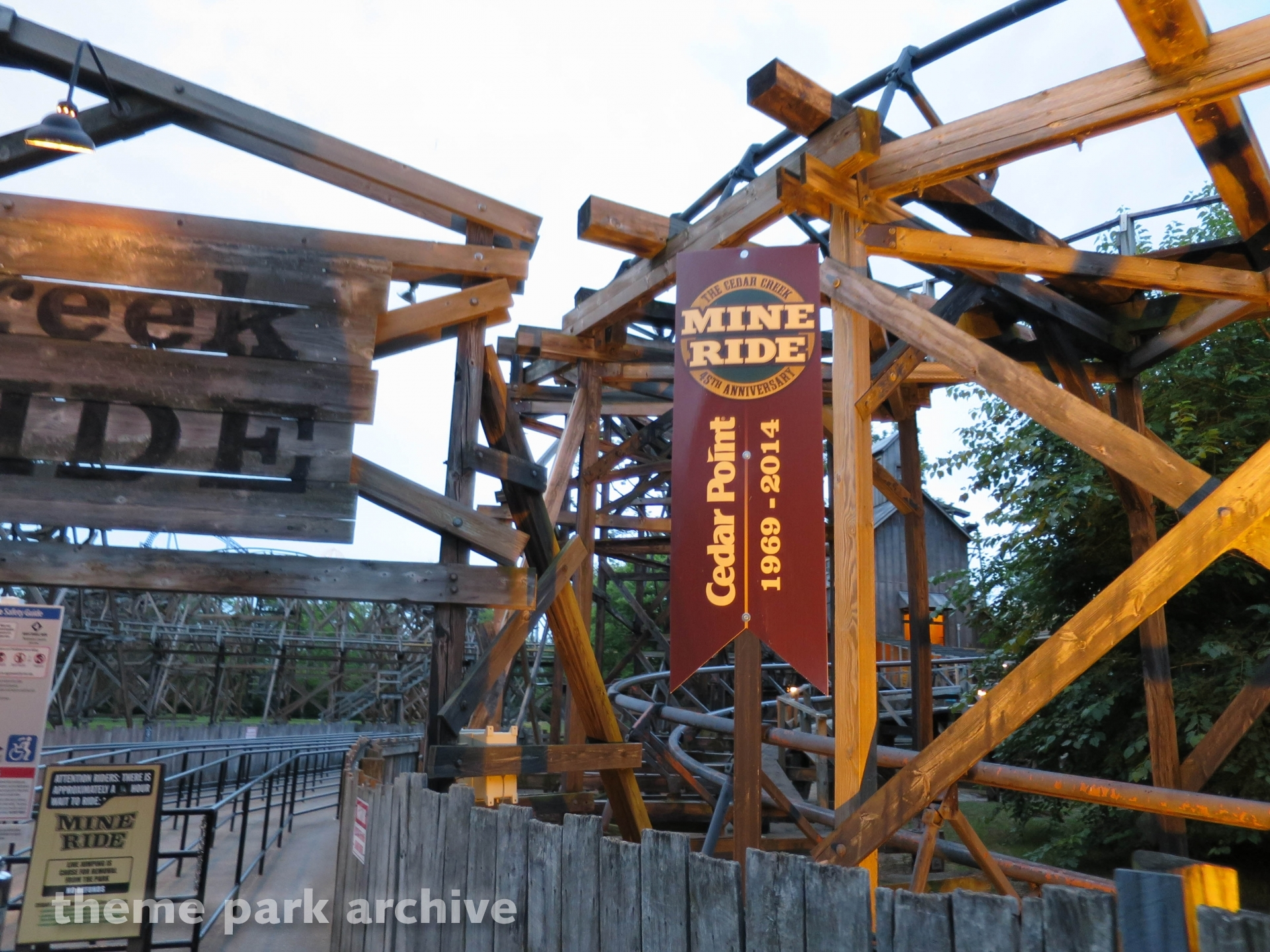 Cedar Creek Mine Ride at Cedar Point