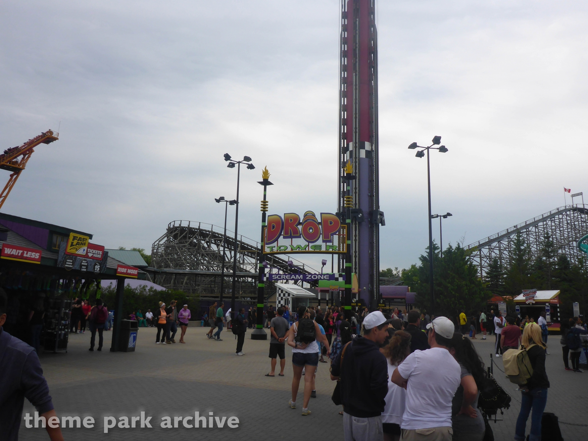 Drop Tower at Canada's Wonderland