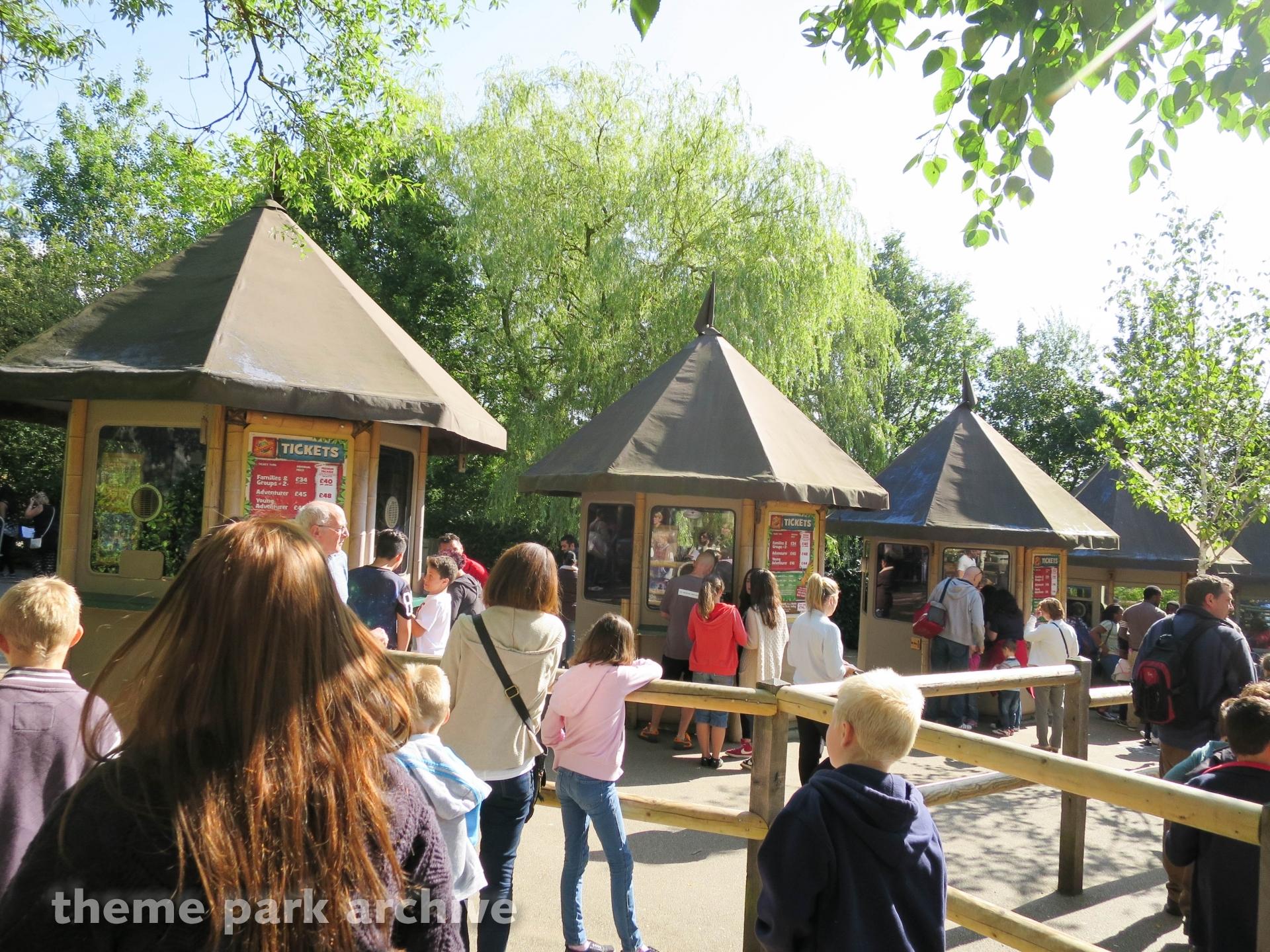 Explorer Gate at Chessington World of Adventures Resort