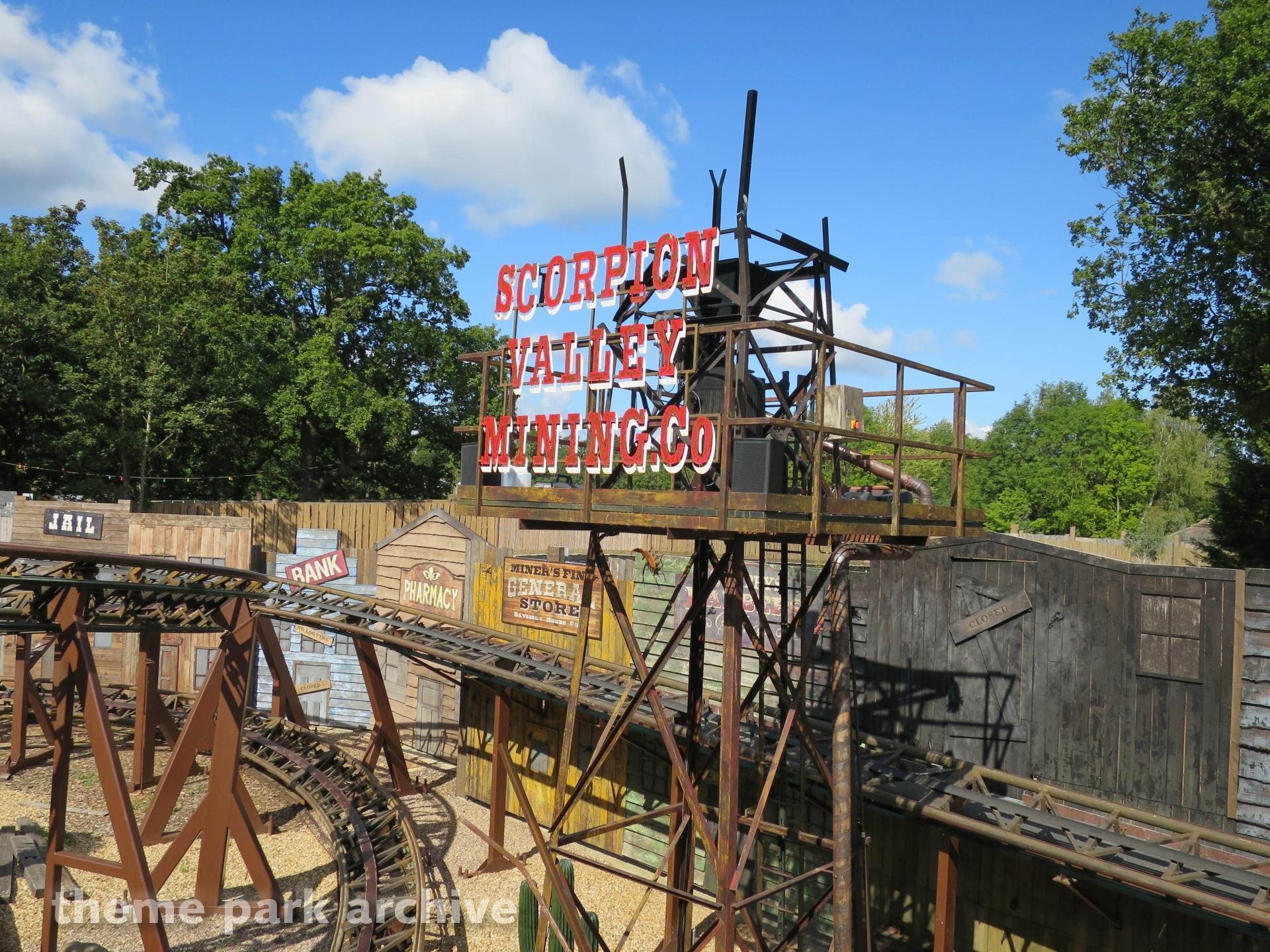 Scorpion Express at Chessington World of Adventures Resort