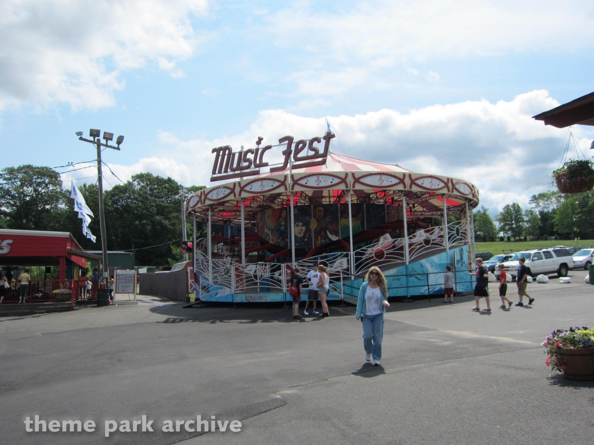 Magic Fest at Quassy Amusement Park