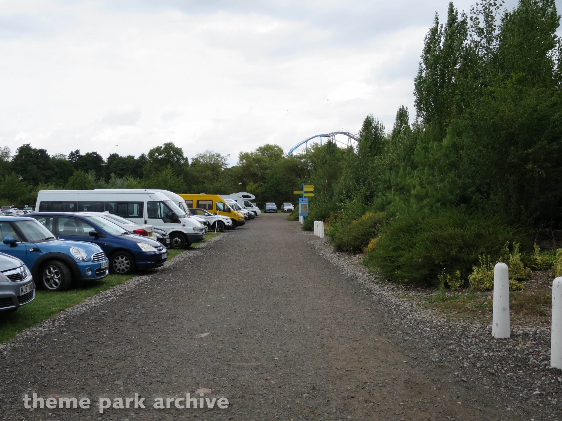 Parking at Drayton Manor