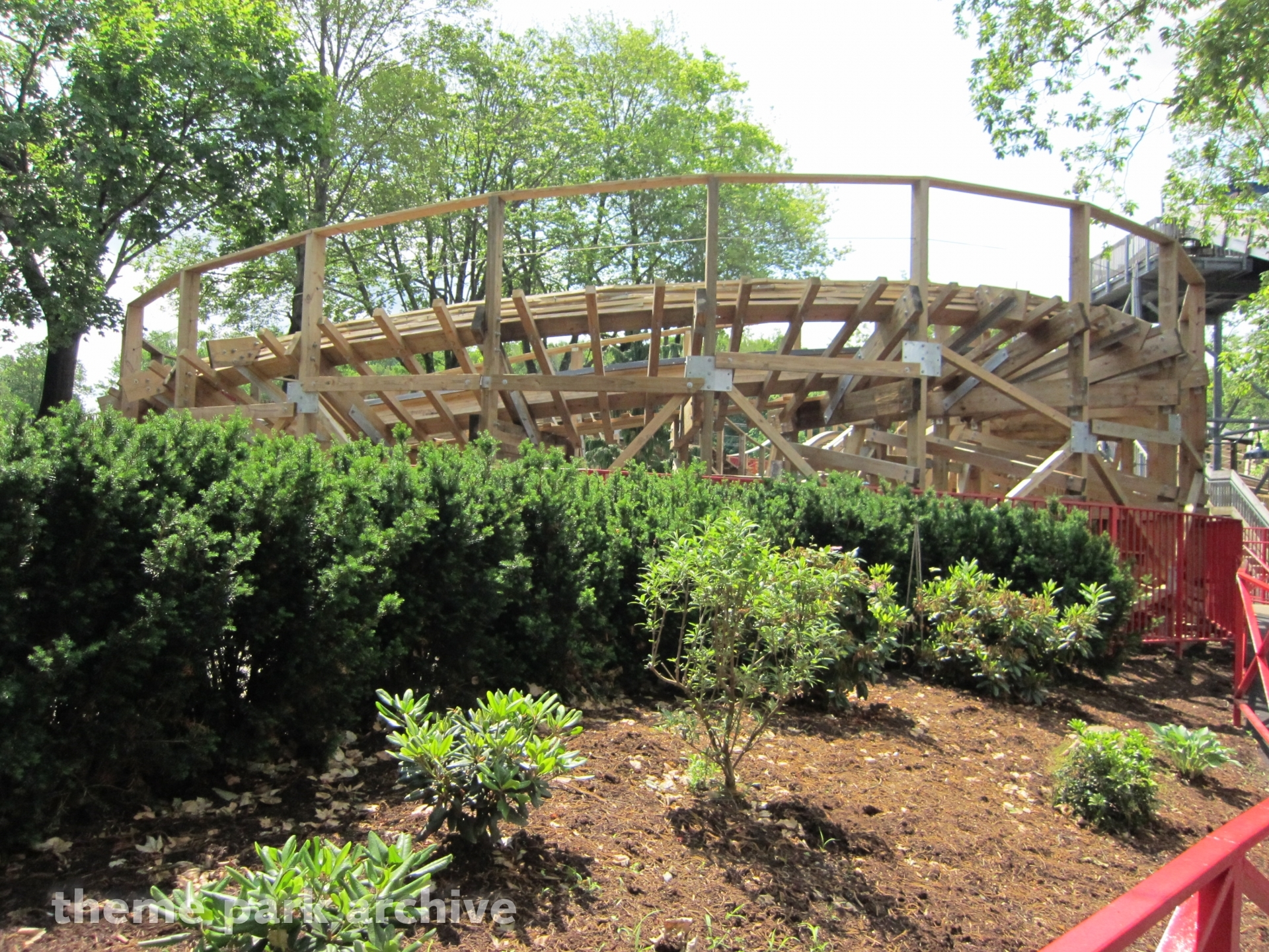 Wooden Warrior at Quassy Amusement Park