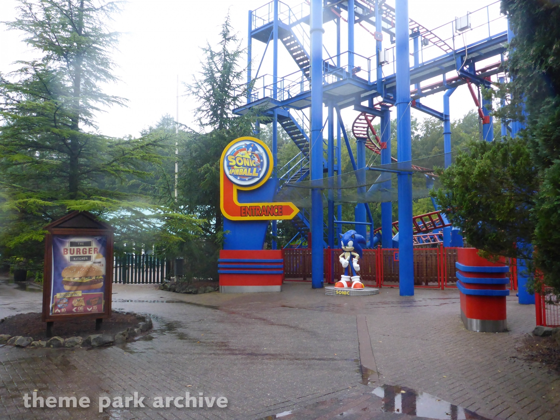 Sonic Spinball at Alton Towers