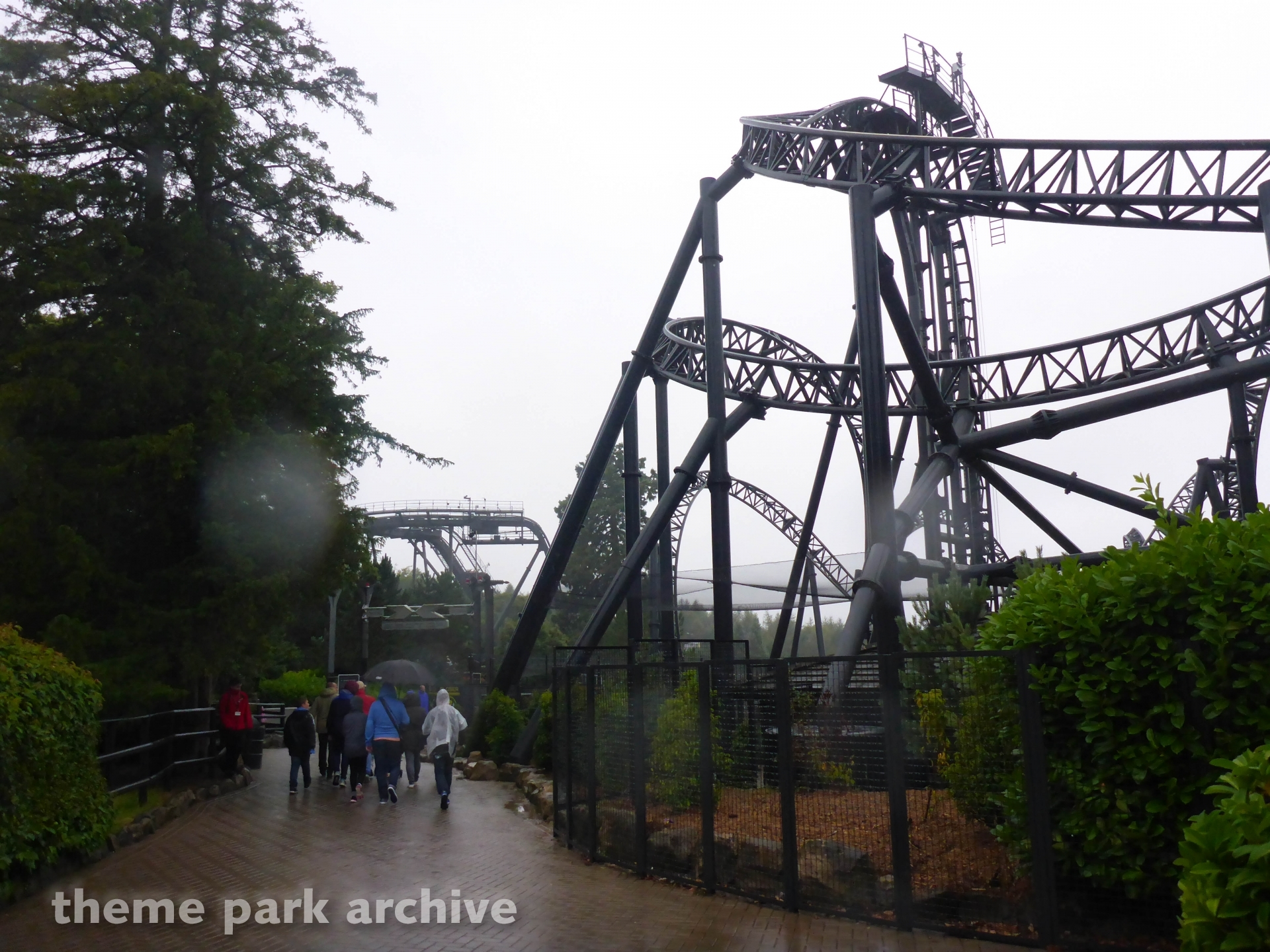 X Sector at Alton Towers