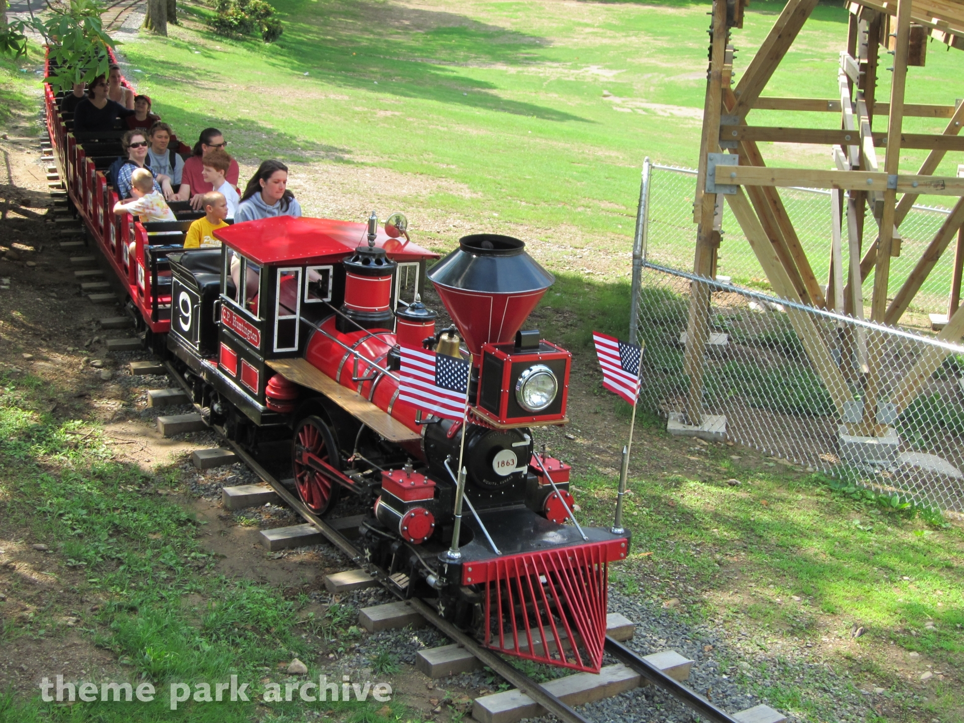 Train at Quassy Amusement Park