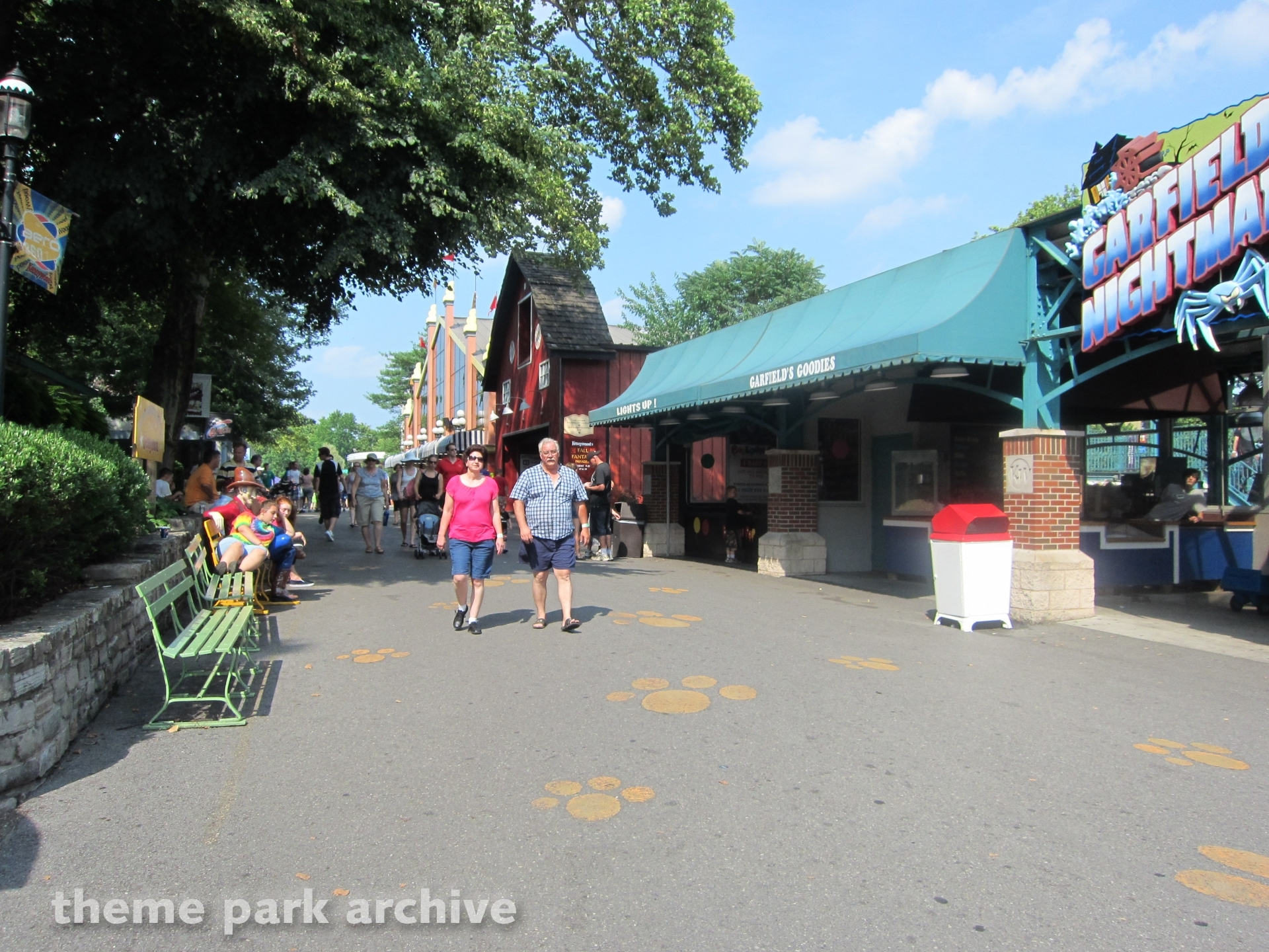 Garfield's Nightmare at Kennywood