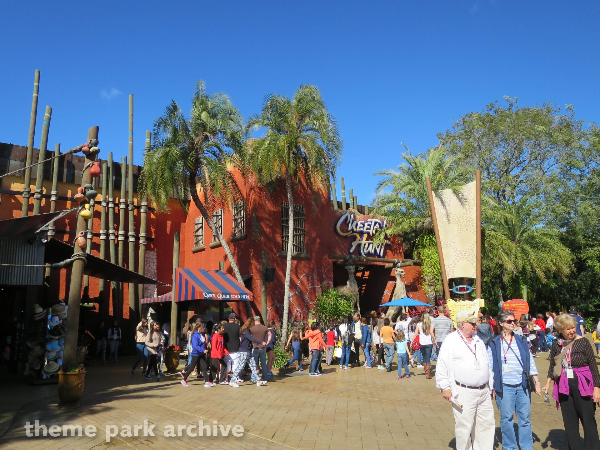 Cheetah Hunt at Busch Gardens Tampa