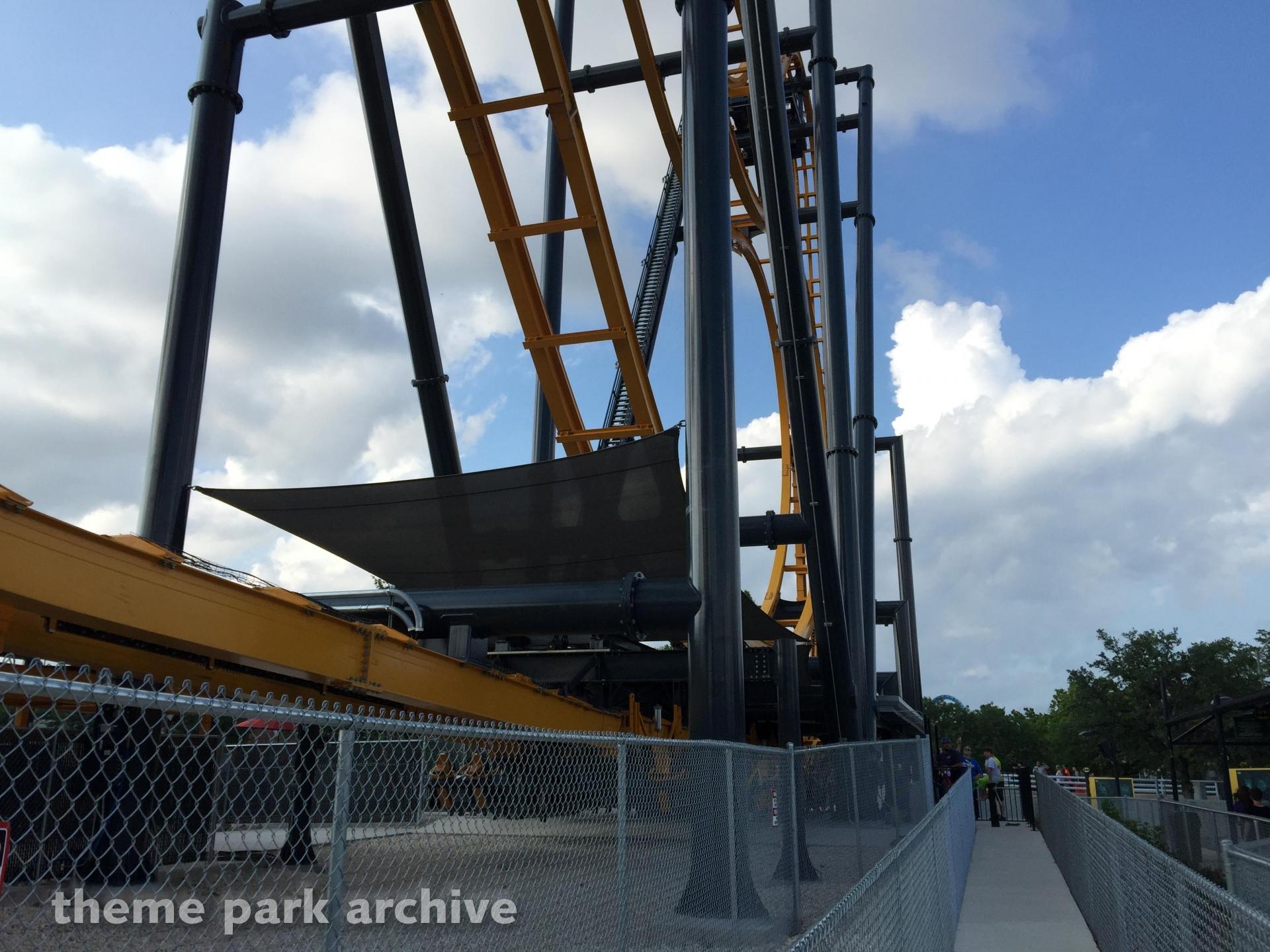 Batman: The Ride at Six Flags Fiesta Texas
