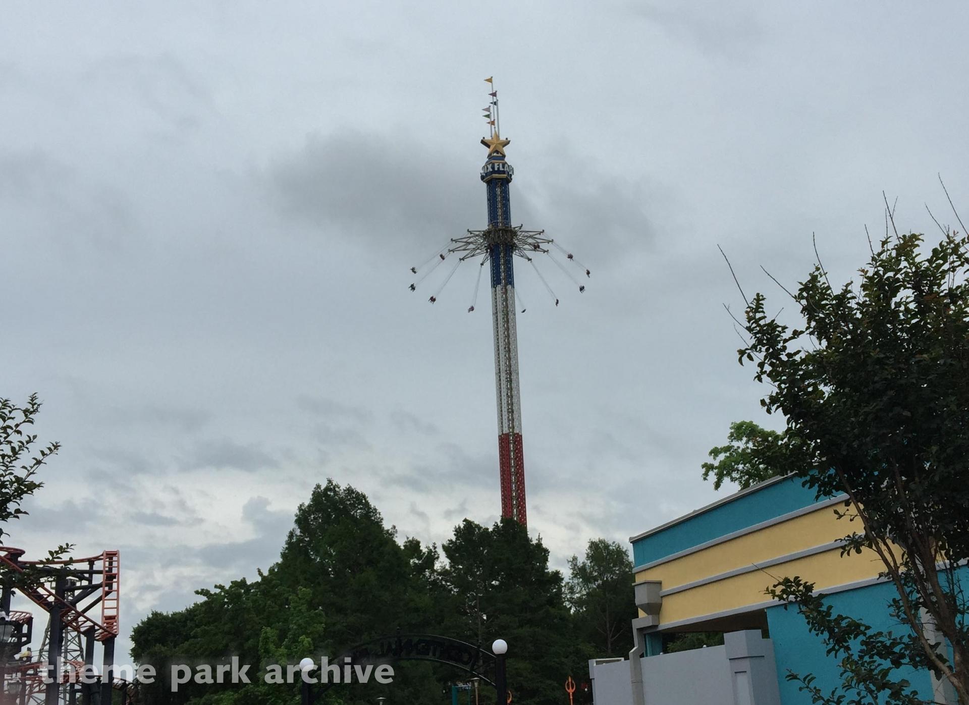Texas Sky Screamer at Six Flags Over Texas