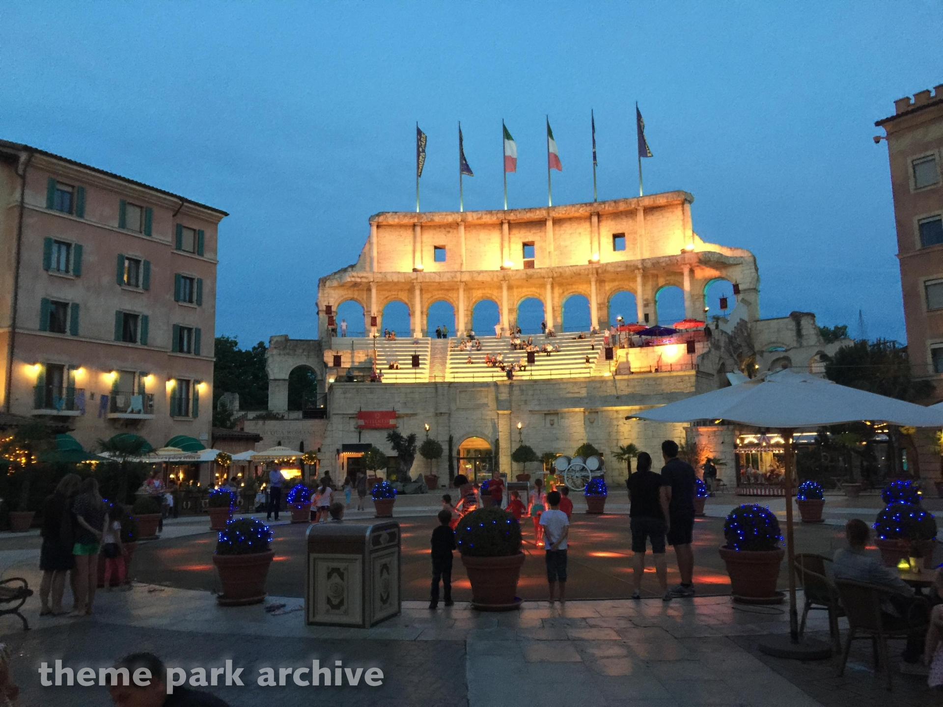Hotel Colosseo At Europa Park Theme Park Archive