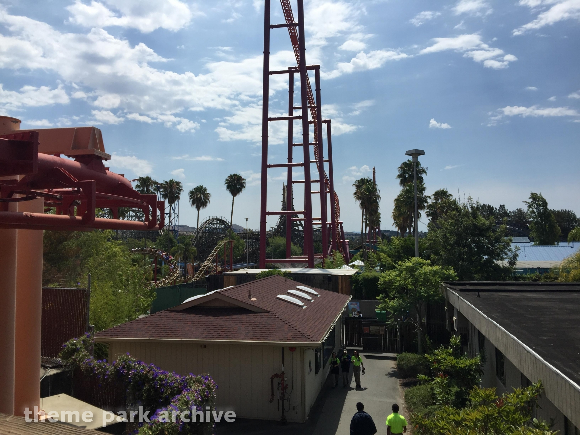 V2: Vertical Velocity at Six Flags Discovery Kingdom