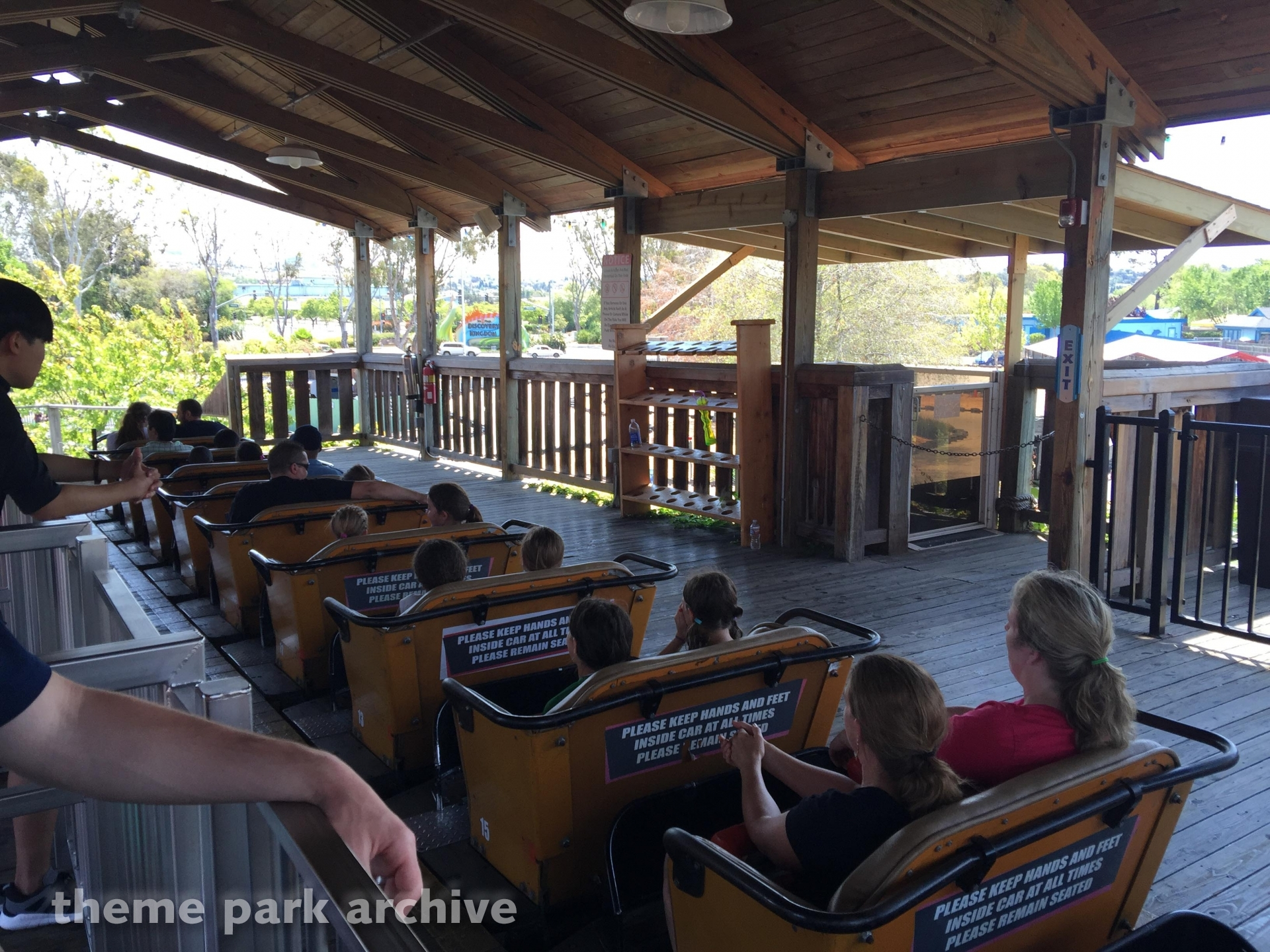 Roar at Six Flags Discovery Kingdom