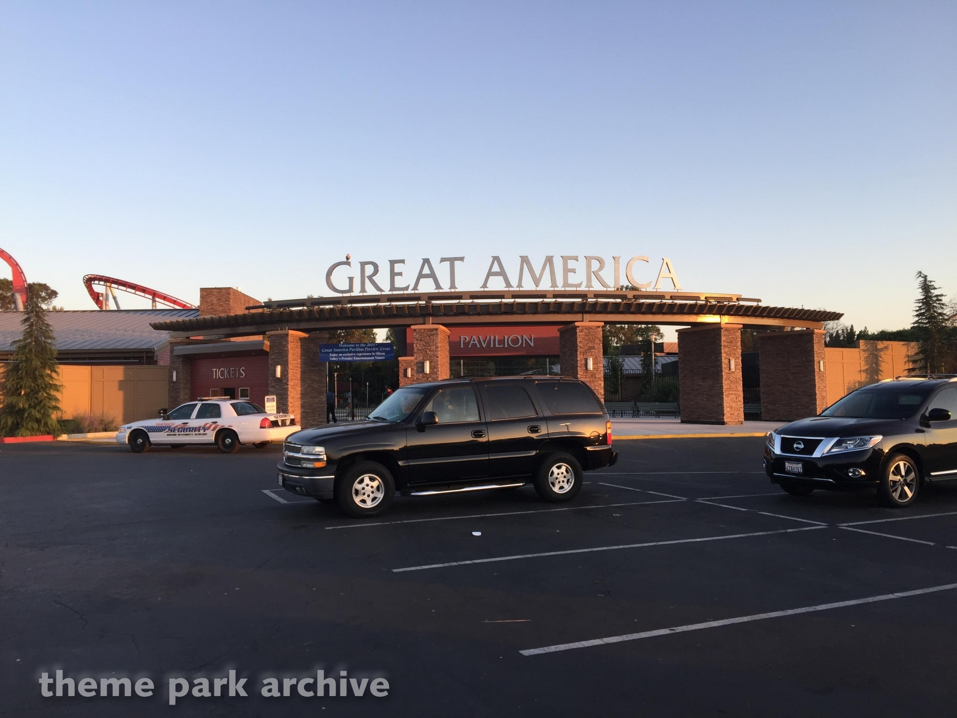 Great America Pavilion at California's Great America