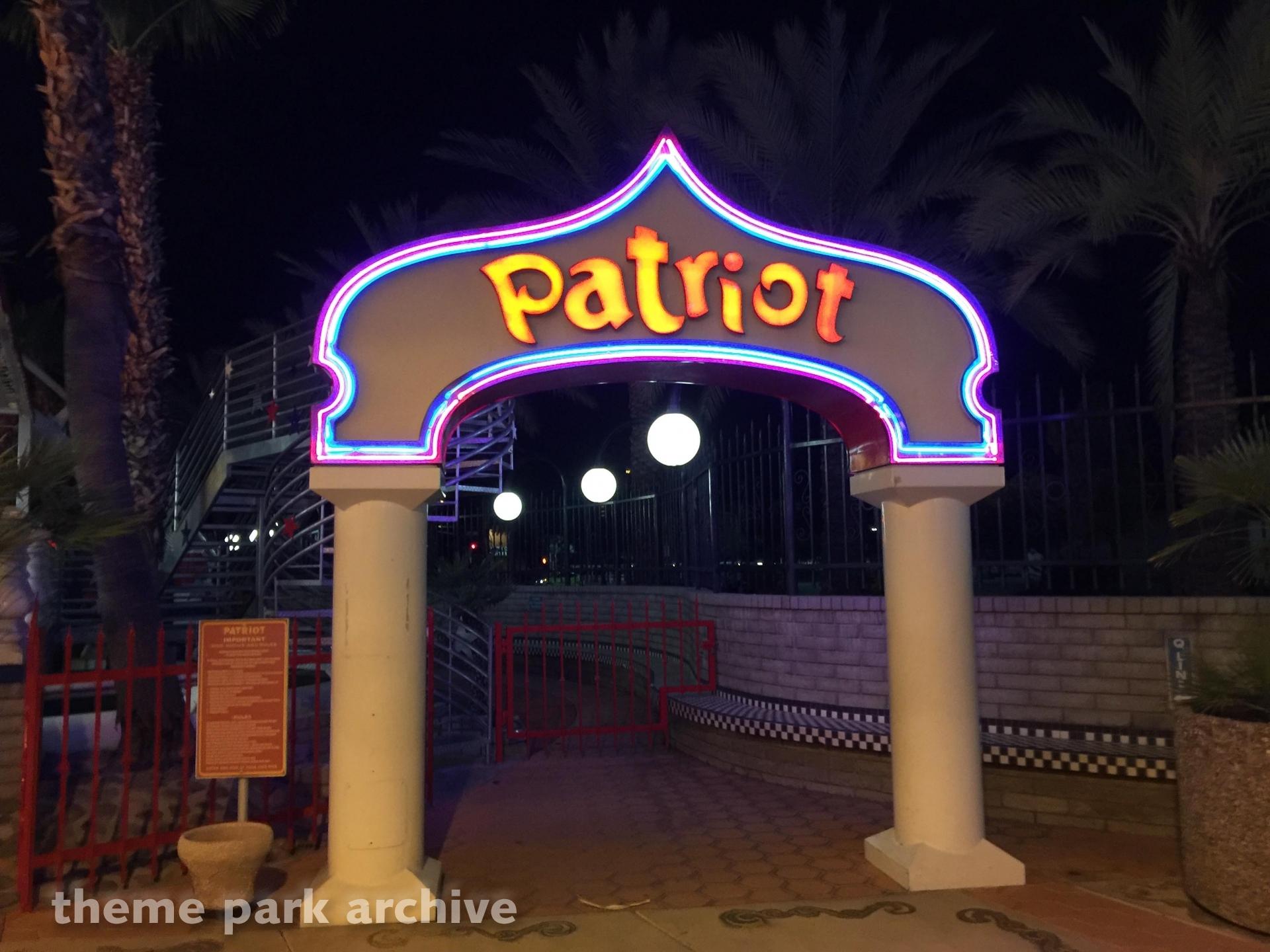 Patriot at Castles N' Coasters